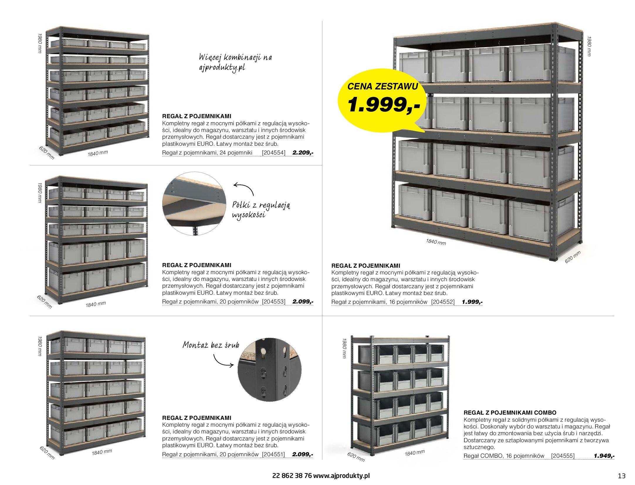 Gazetka AJ Produkty: Gazetka AJ Produkty - katalog przemysł i warsztat 2021-05-07 page-13