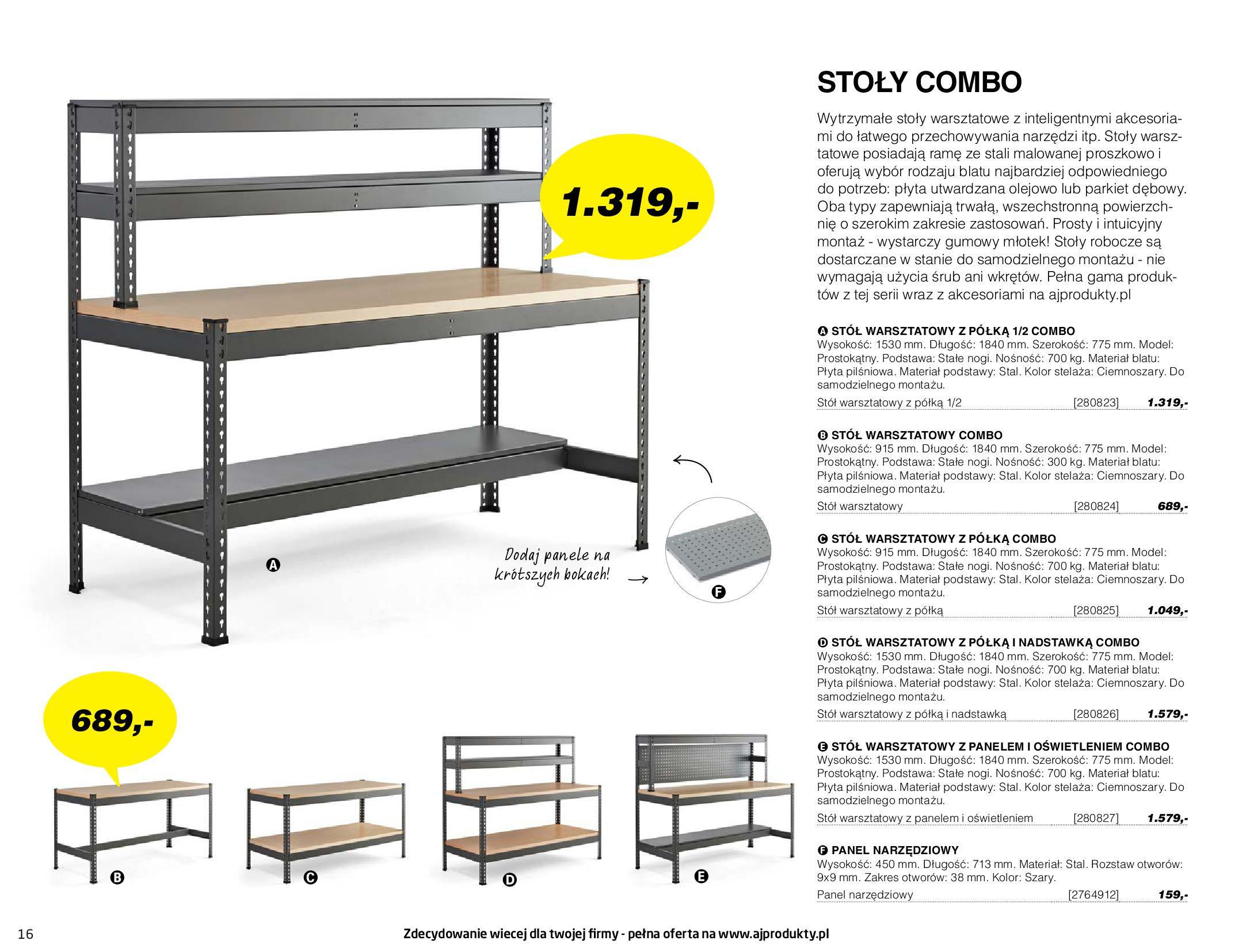 Gazetka AJ Produkty: Gazetka AJ Produkty - katalog przemysł i warsztat 2021-05-07 page-16
