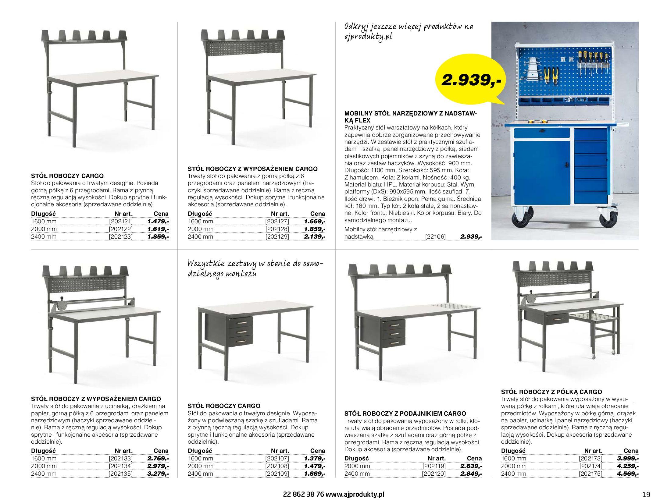 Gazetka AJ Produkty: Gazetka AJ Produkty - katalog przemysł i warsztat 2021-05-07 page-19