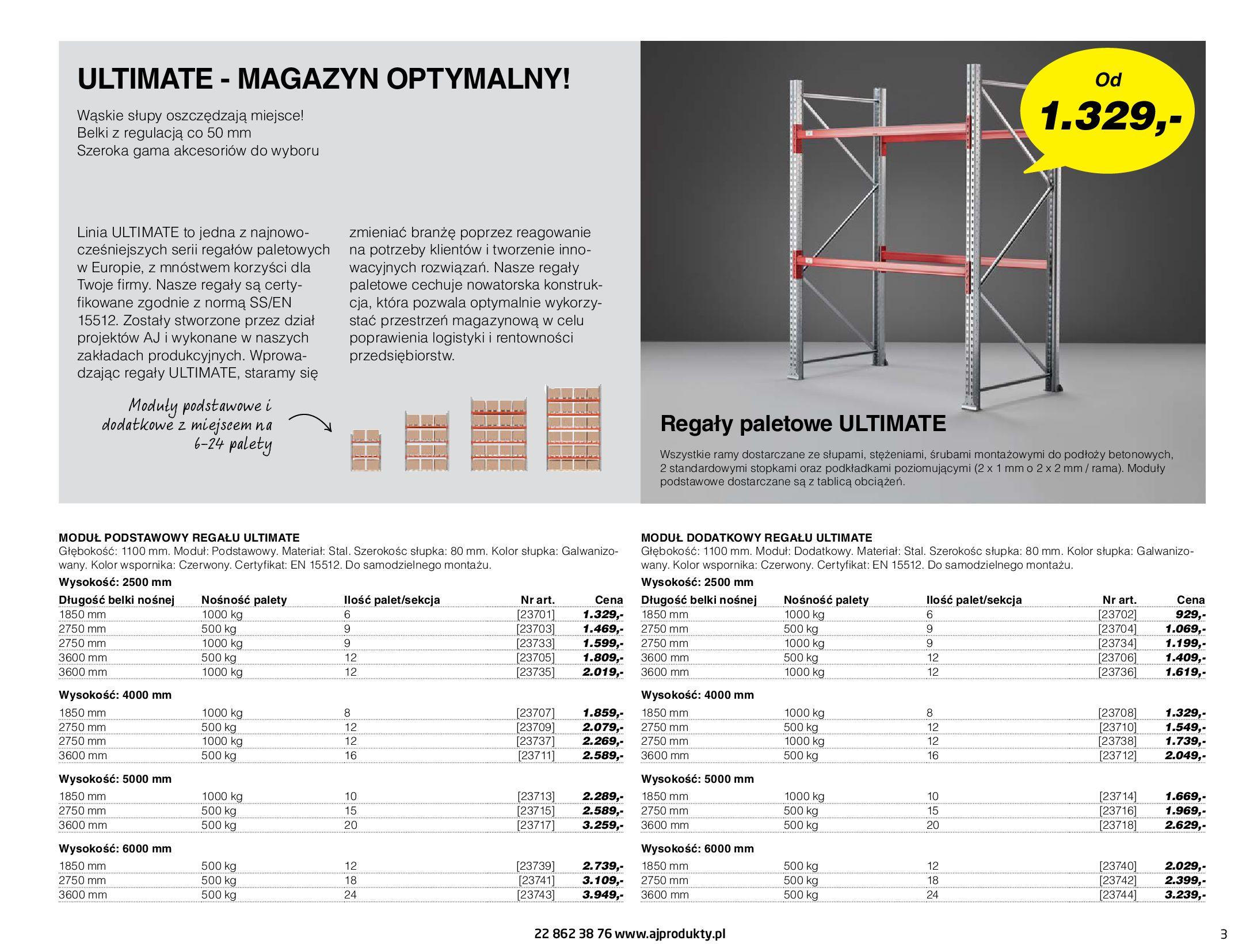 Gazetka AJ Produkty: Gazetka AJ Produkty - katalog przemysł i warsztat 2021-05-07 page-3