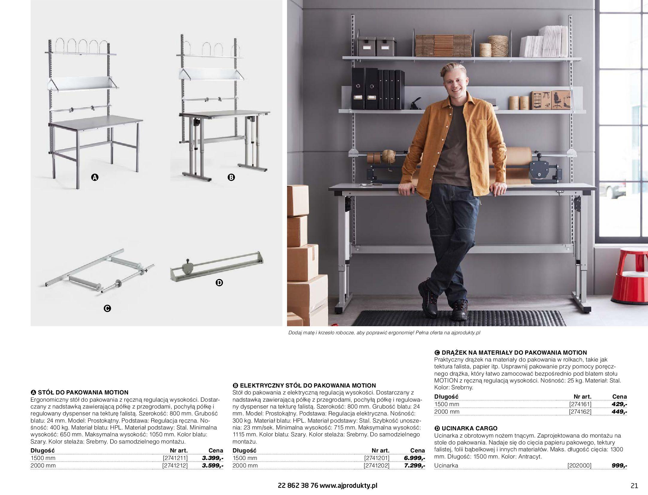 Gazetka AJ Produkty: Gazetka AJ Produkty - katalog przemysł i warsztat 2021-05-07 page-21
