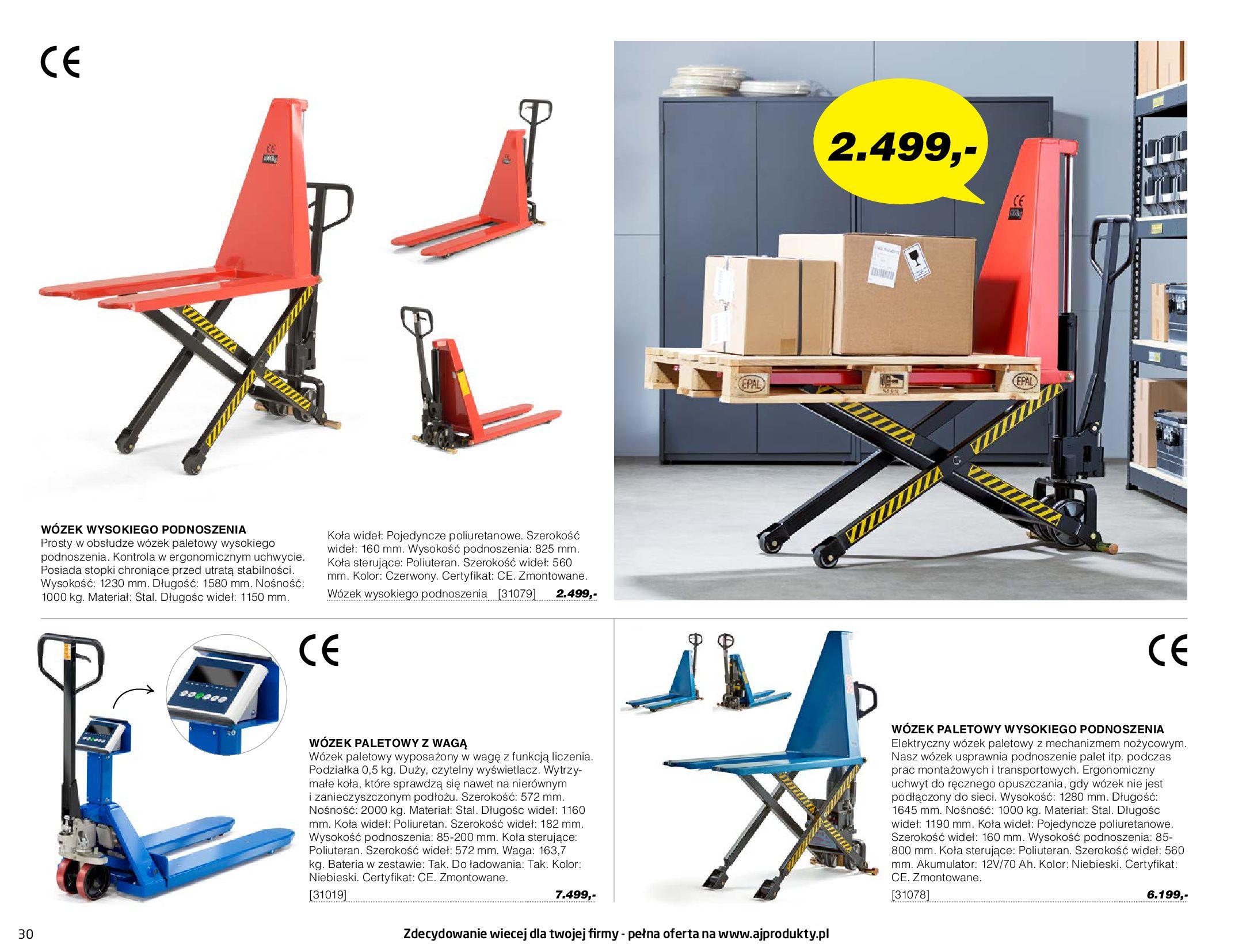 Gazetka AJ Produkty: Gazetka AJ Produkty - katalog przemysł i warsztat 2021-05-07 page-30