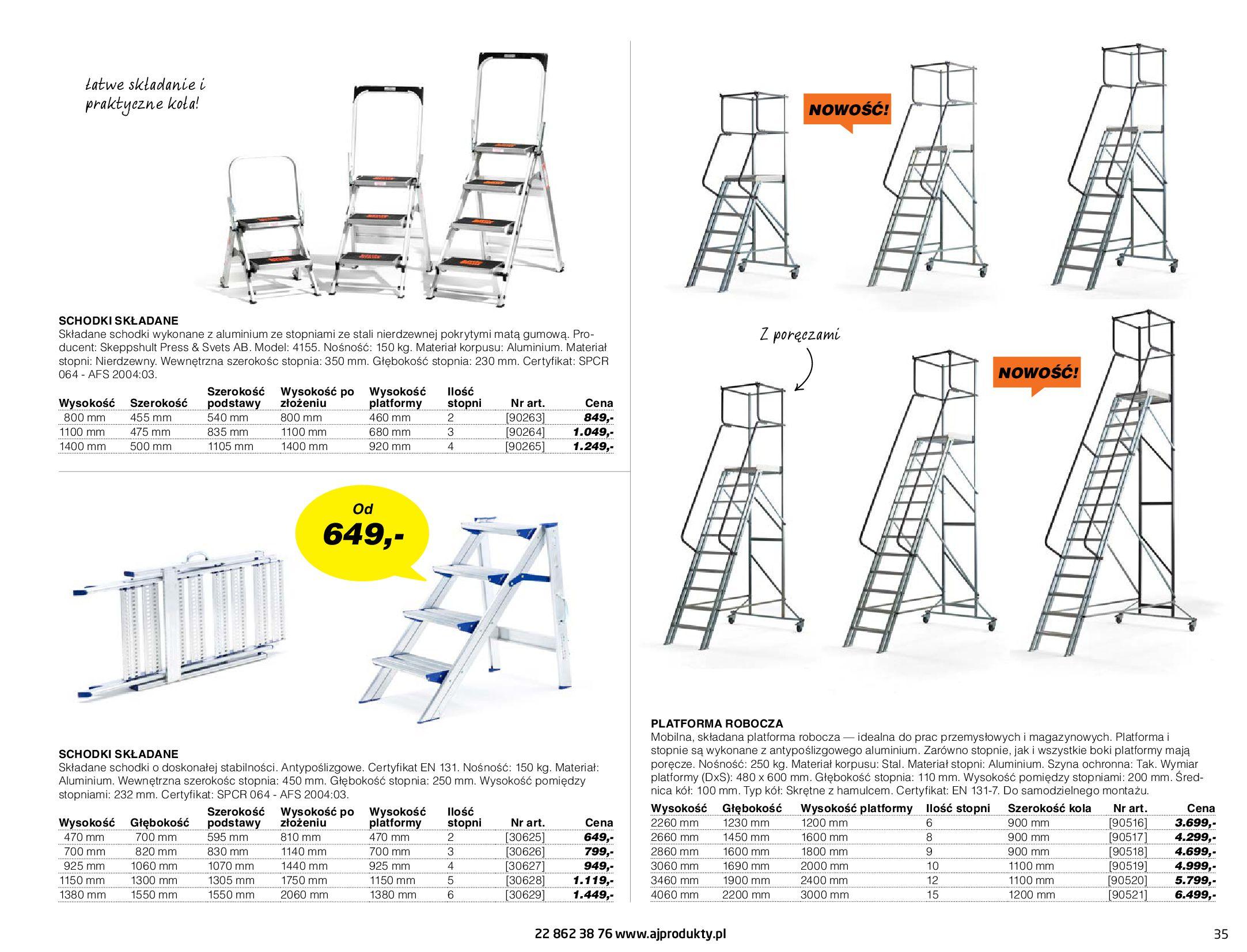 Gazetka AJ Produkty: Gazetka AJ Produkty - katalog przemysł i warsztat 2021-05-07 page-35