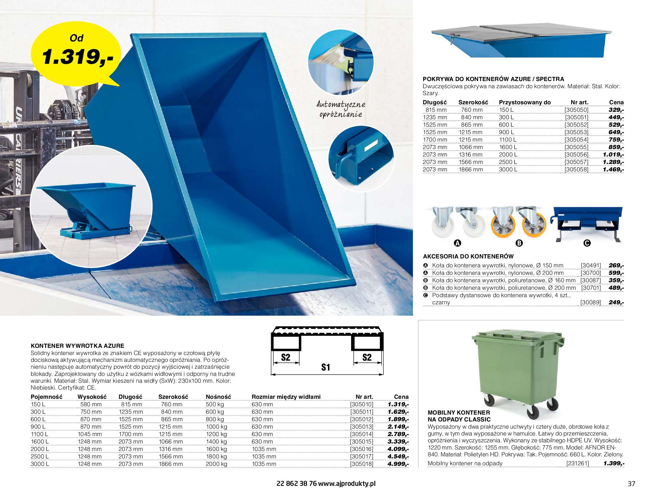 Gazetka AJ Produkty: Gazetka AJ Produkty - katalog przemysł i warsztat 2021-05-07 page-37