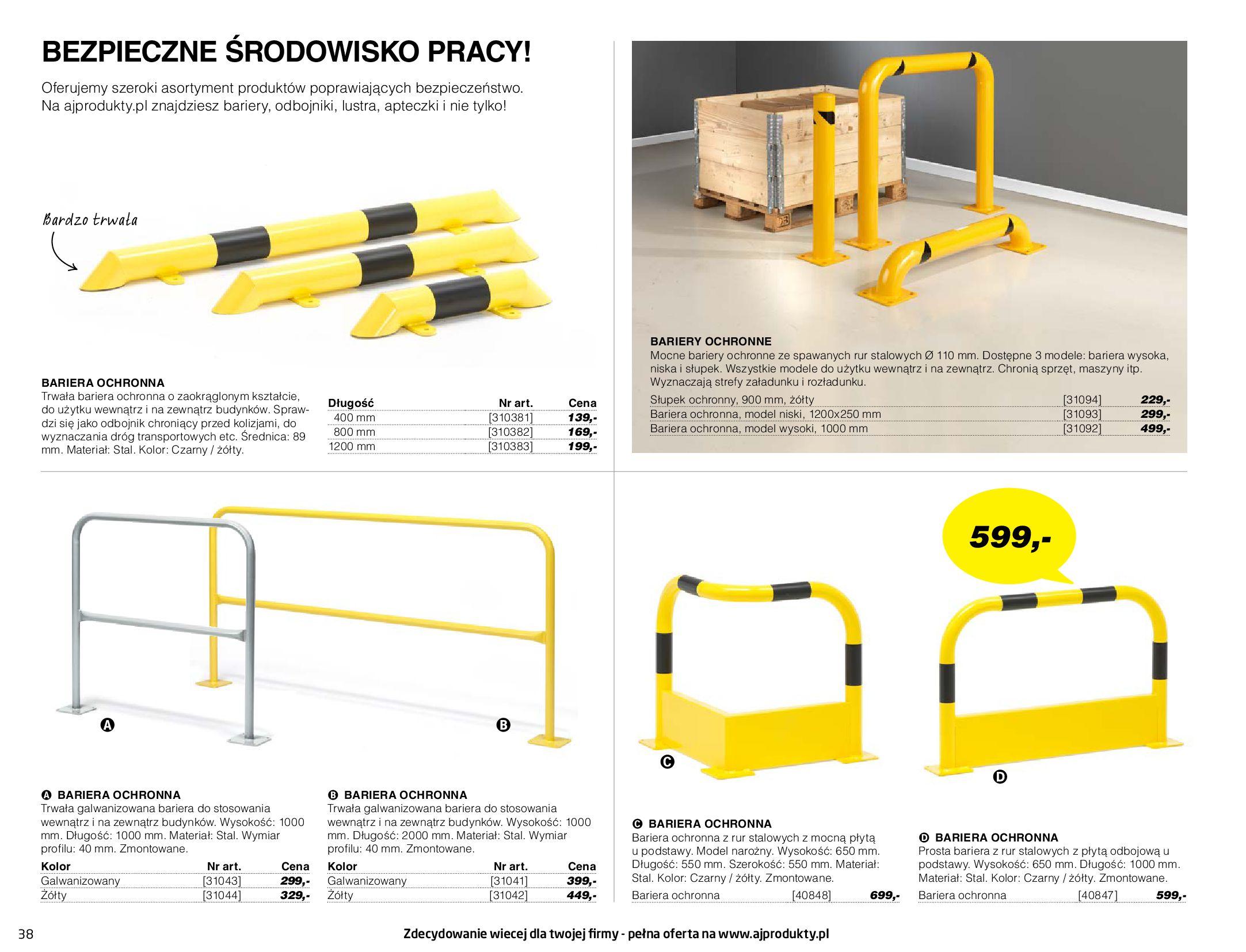 Gazetka AJ Produkty: Gazetka AJ Produkty - katalog przemysł i warsztat 2021-05-07 page-38