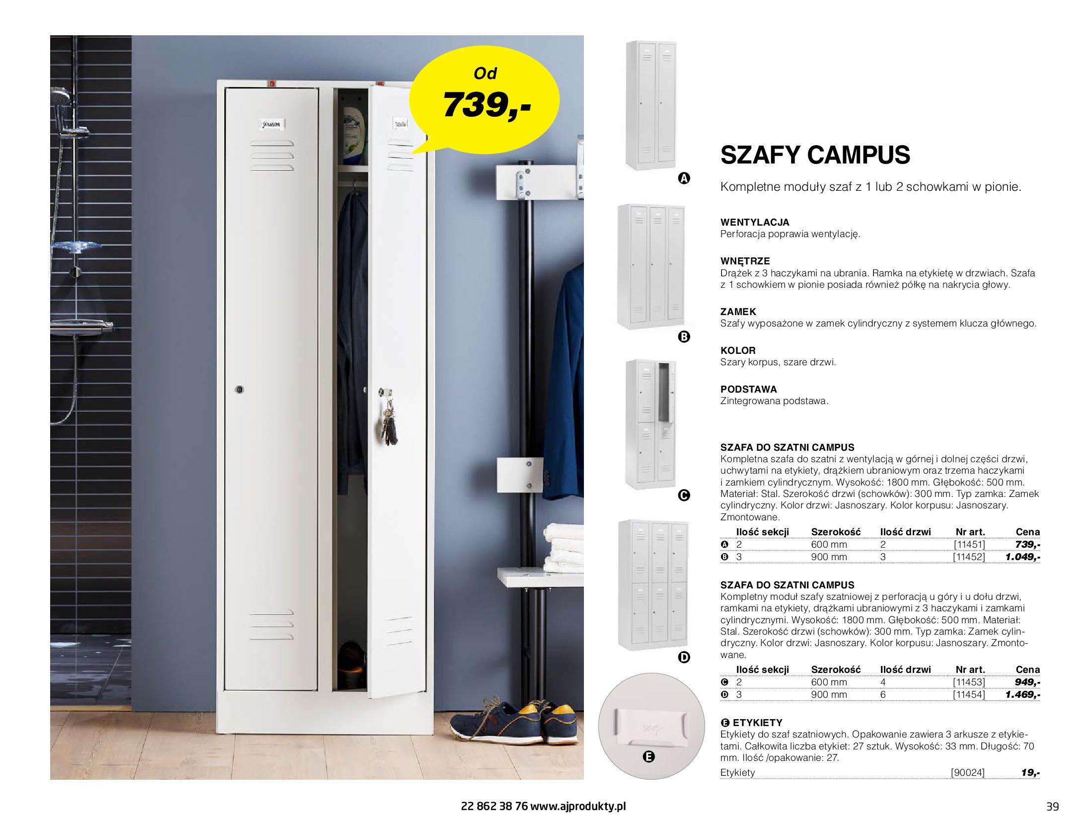 Gazetka AJ Produkty: Gazetka AJ Produkty - katalog przemysł i warsztat 2021-05-07 page-39
