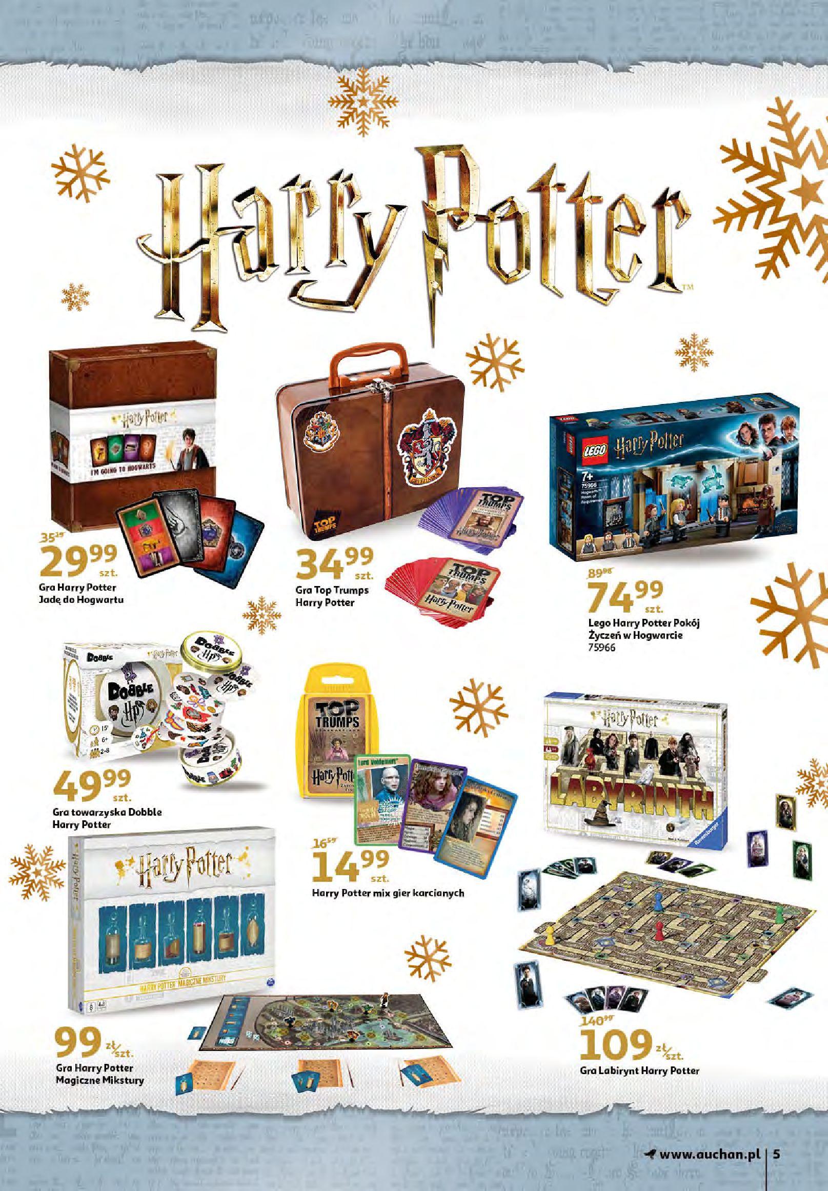 Gazetka Auchan - Magia zabawek i świątecznych ozdób-11.11.2020-25.11.2020-page-5