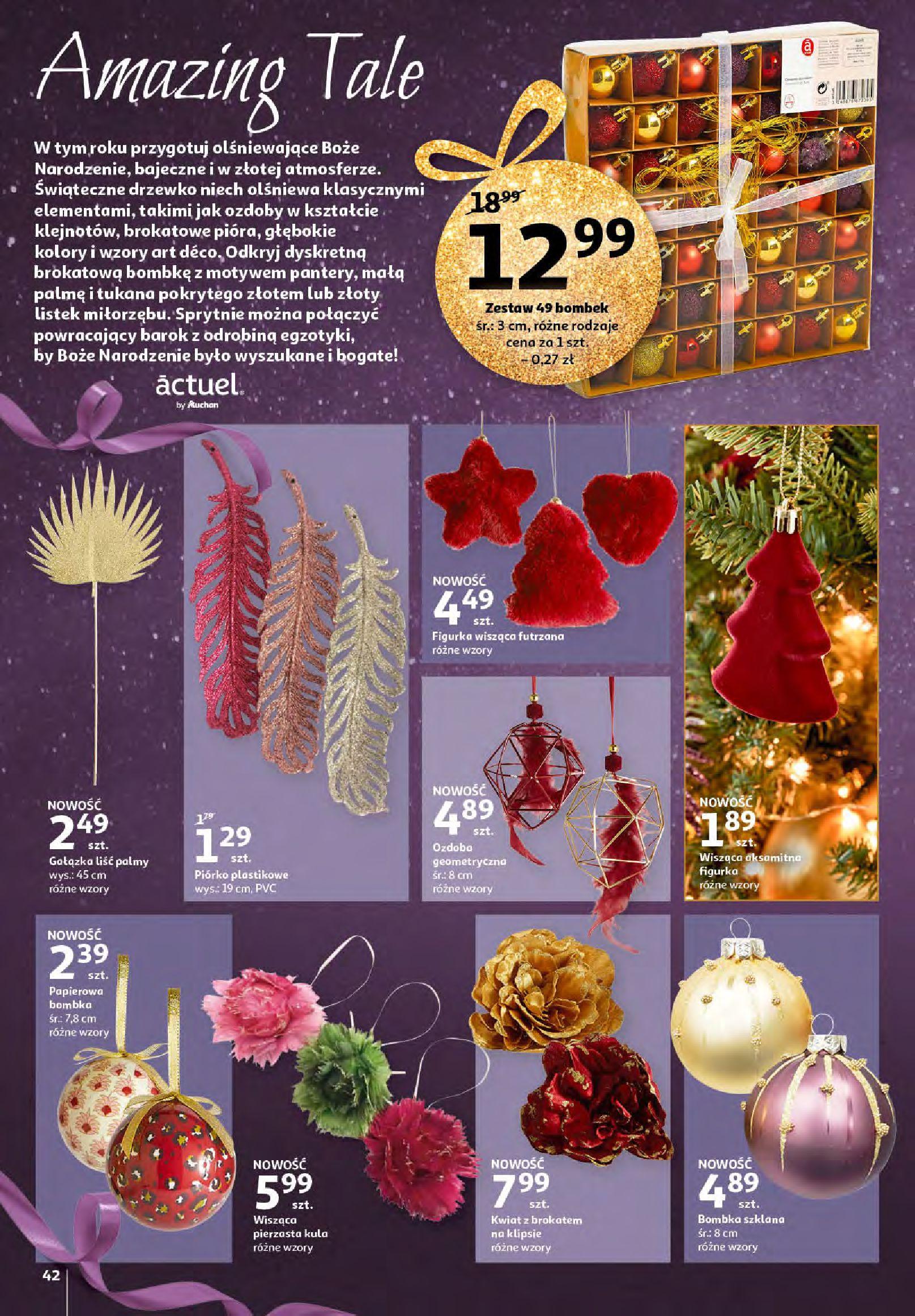 Gazetka Auchan - Magia zabawek i świątecznych ozdób-11.11.2020-25.11.2020-page-42