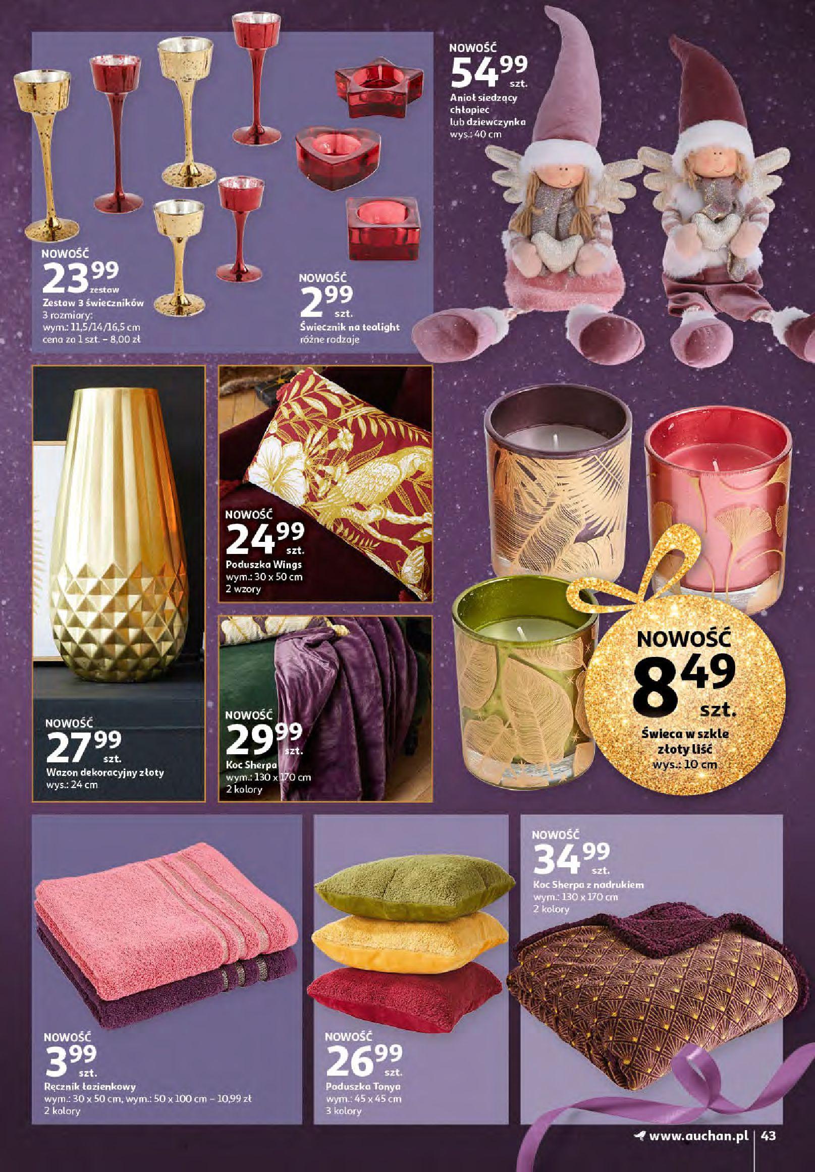 Gazetka Auchan - Magia zabawek i świątecznych ozdób-11.11.2020-25.11.2020-page-43