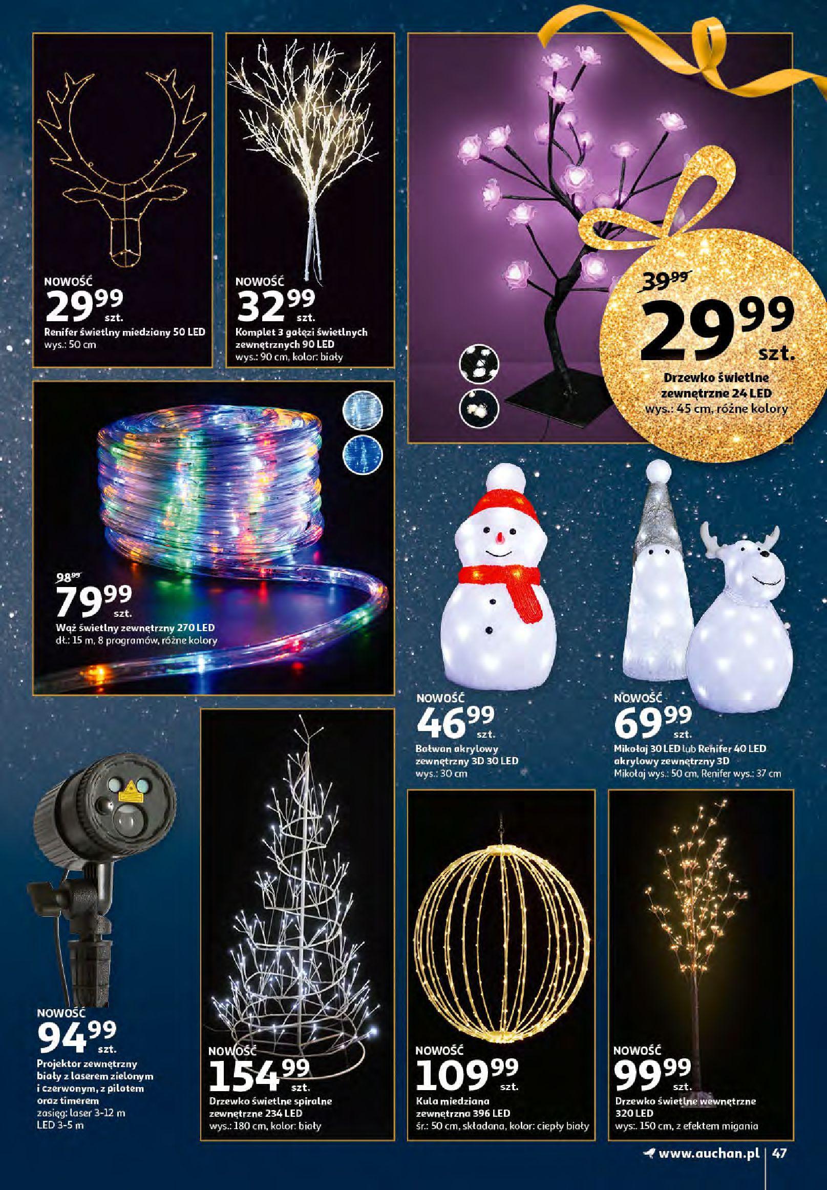 Gazetka Auchan - Magia zabawek i świątecznych ozdób-11.11.2020-25.11.2020-page-47