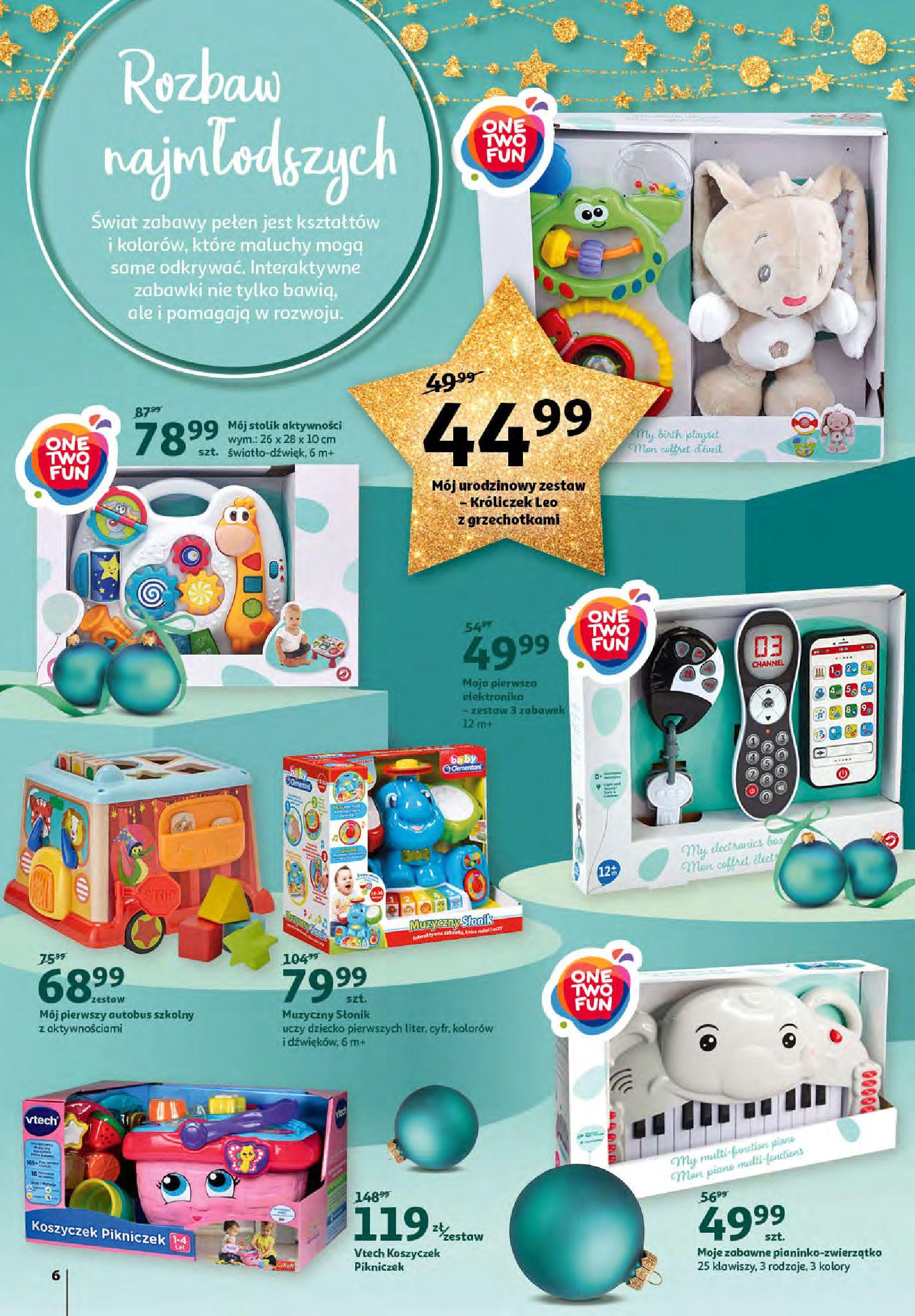 Gazetka Auchan - Magia zabawek i świątecznych ozdób-11.11.2020-25.11.2020-page-6