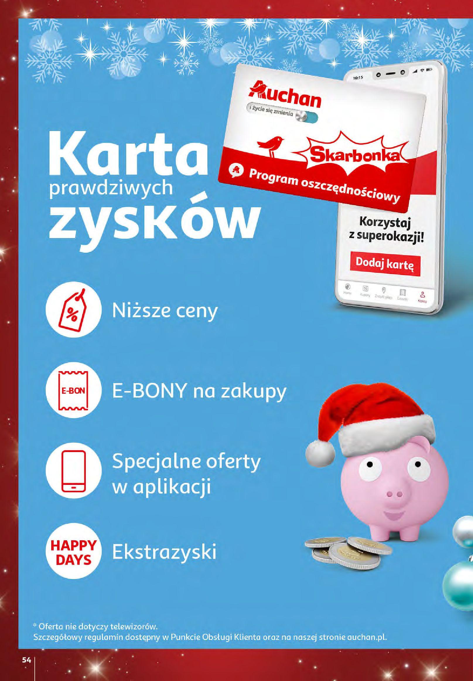 Gazetka Auchan - Magia zabawek i świątecznych ozdób-11.11.2020-25.11.2020-page-54