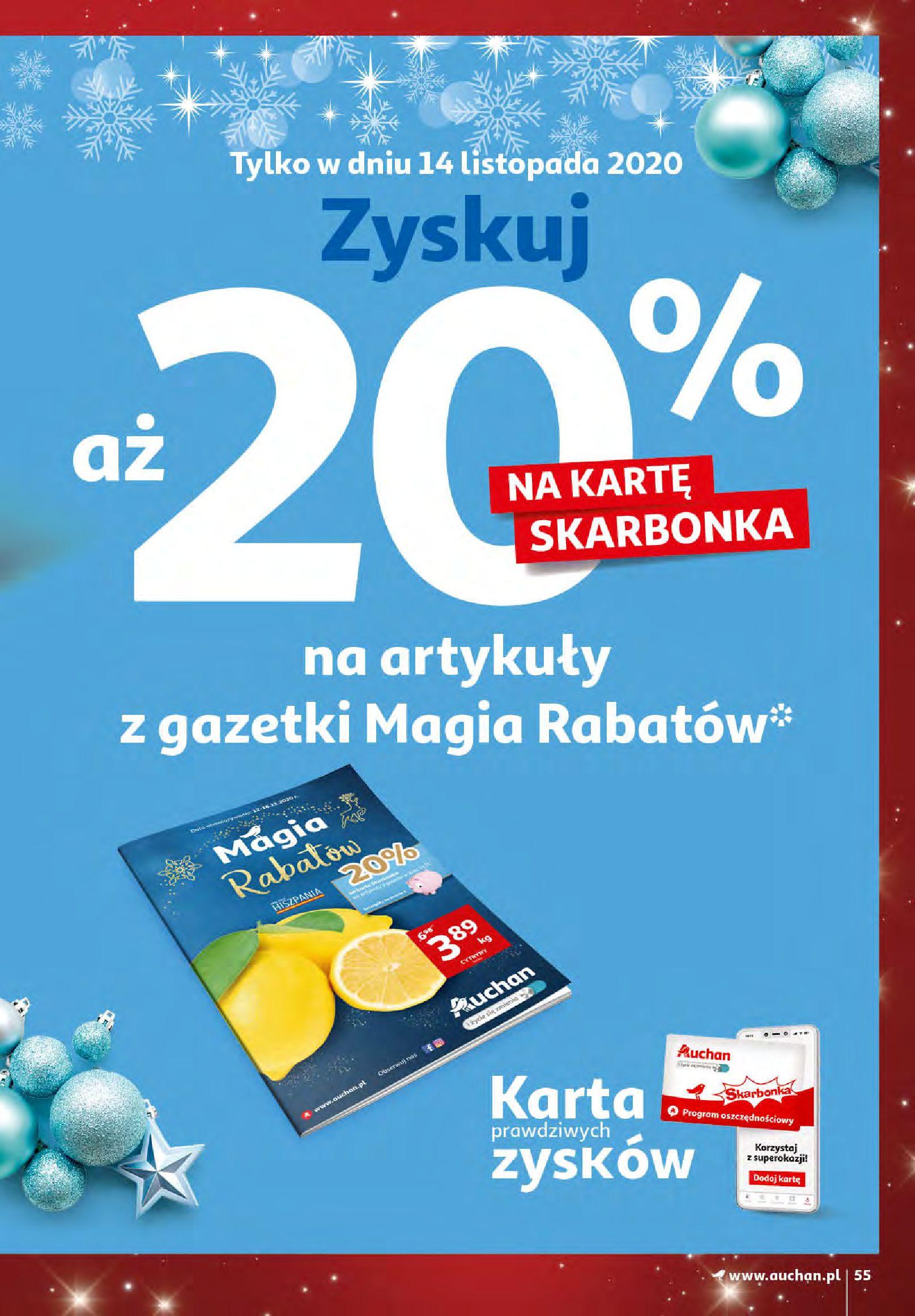 Gazetka Auchan - Magia zabawek i świątecznych ozdób-11.11.2020-25.11.2020-page-55