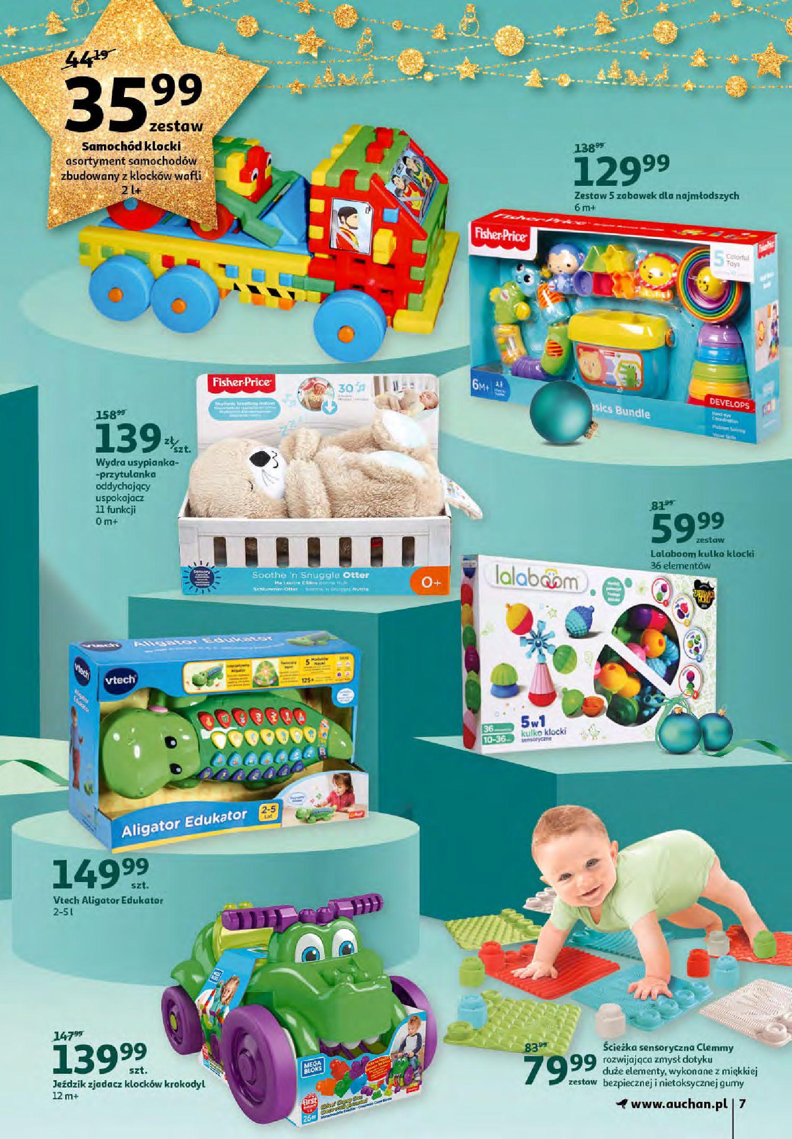 Gazetka Auchan - Magia zabawek i świątecznych ozdób-11.11.2020-25.11.2020-page-7