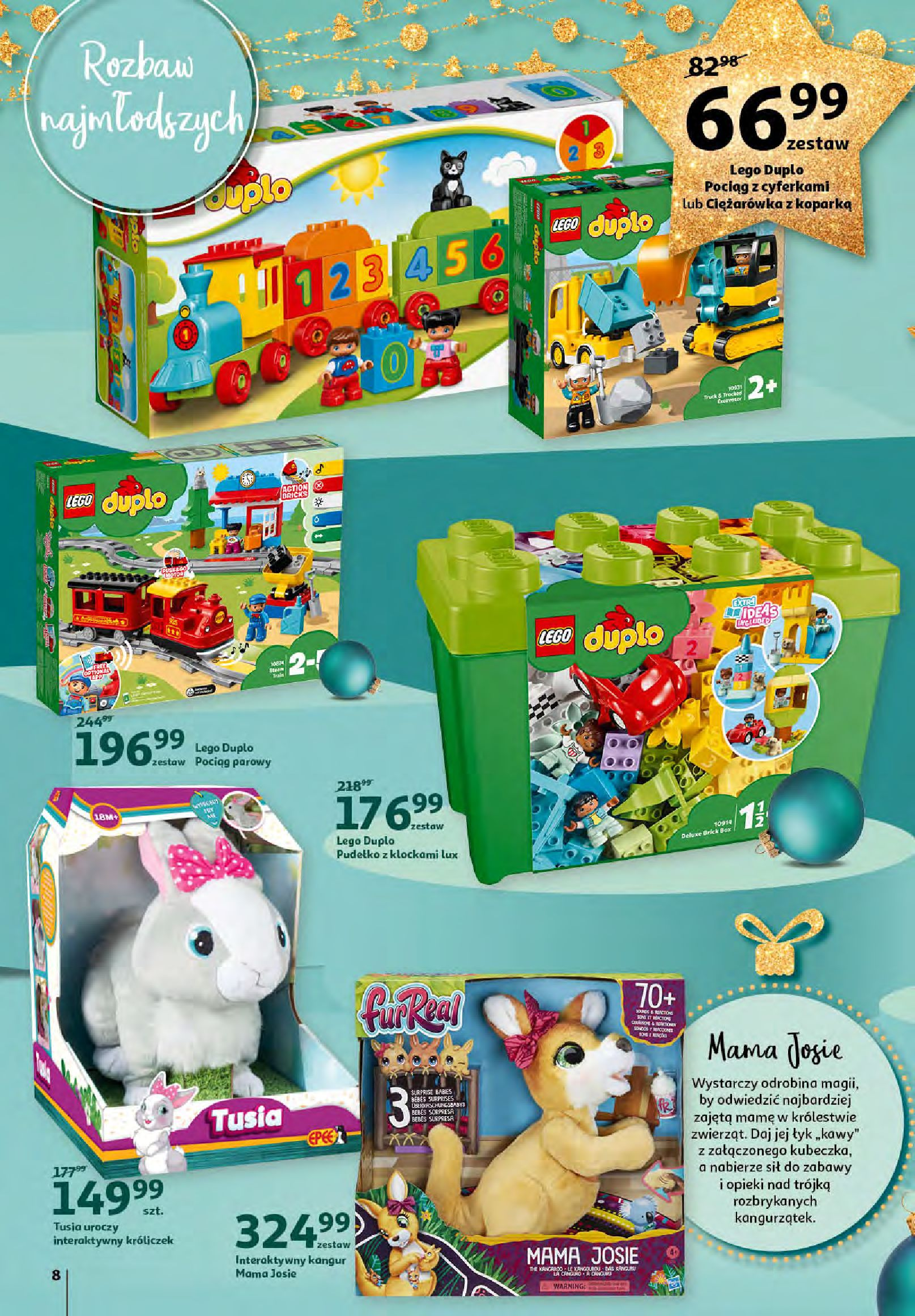 Gazetka Auchan - Magia zabawek i świątecznych ozdób-11.11.2020-25.11.2020-page-8