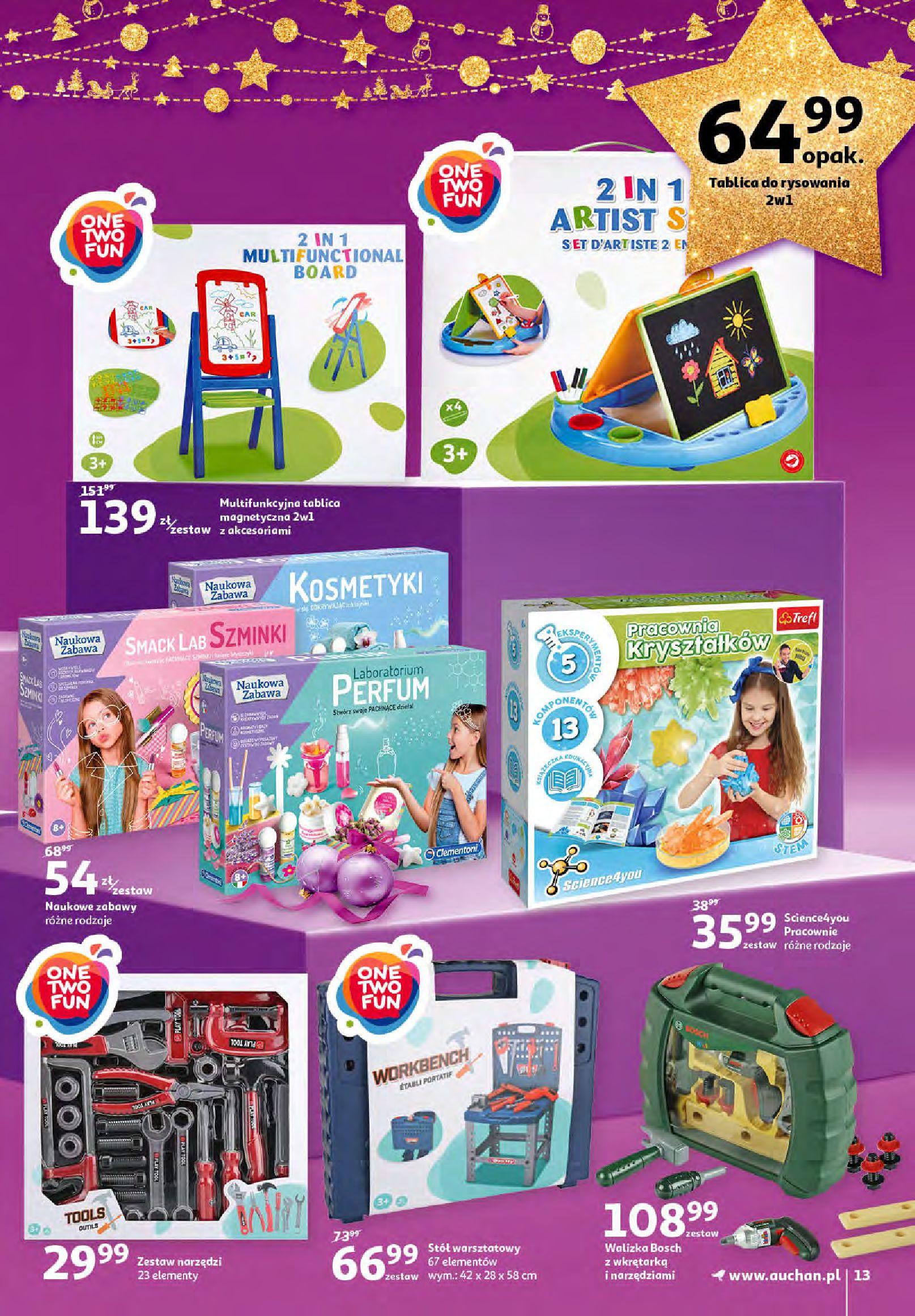 Gazetka Auchan - Magia zabawek i świątecznych ozdób-11.11.2020-25.11.2020-page-13