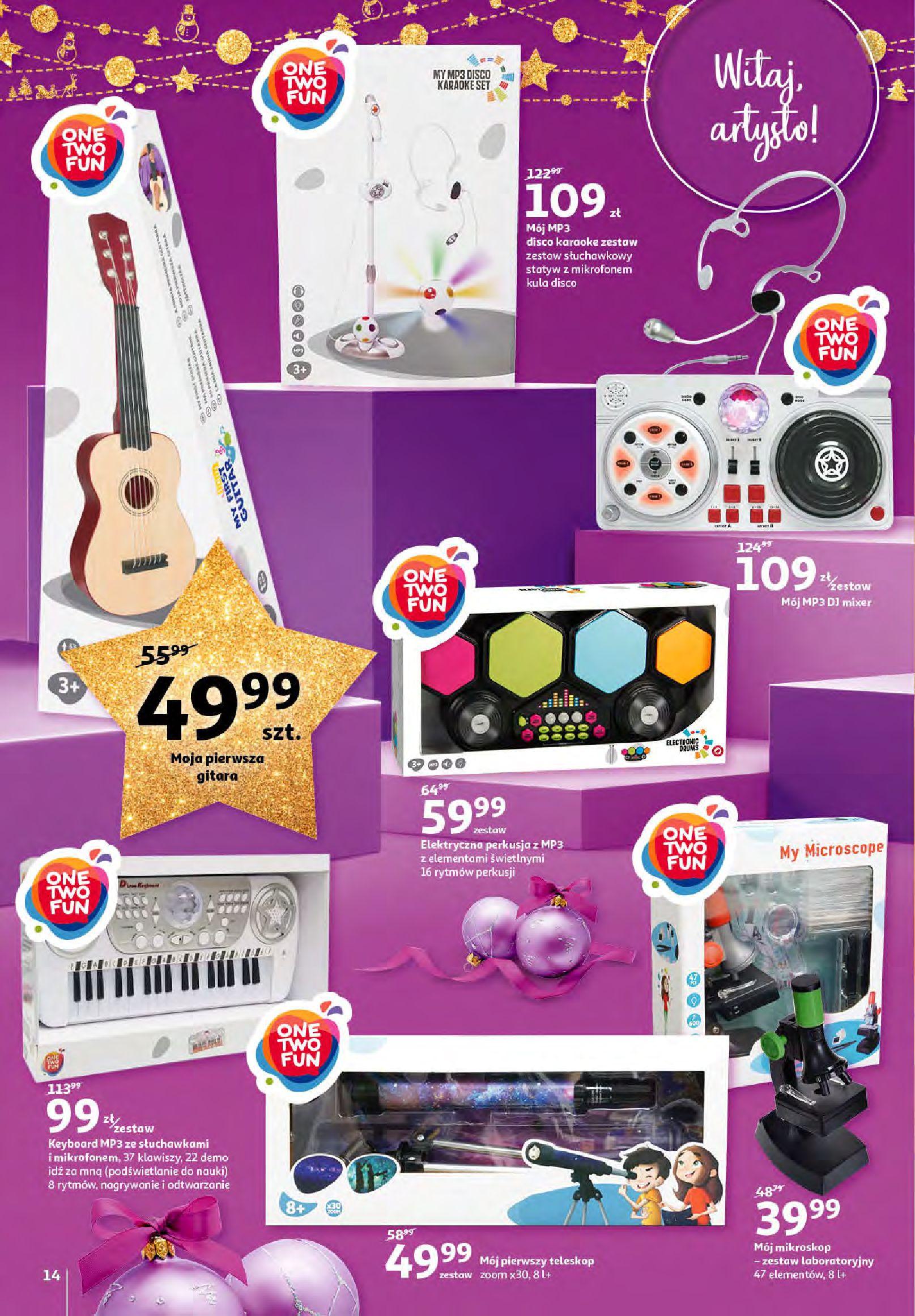Gazetka Auchan - Magia zabawek i świątecznych ozdób-11.11.2020-25.11.2020-page-14