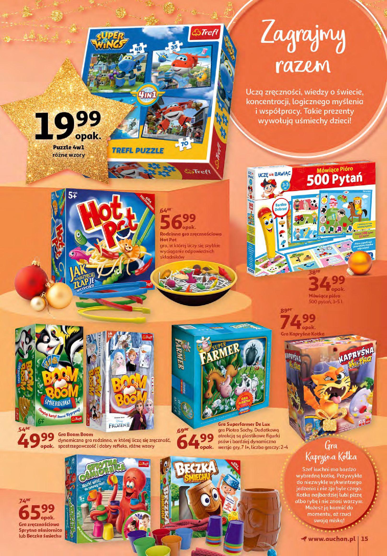 Gazetka Auchan - Magia zabawek i świątecznych ozdób-11.11.2020-25.11.2020-page-15