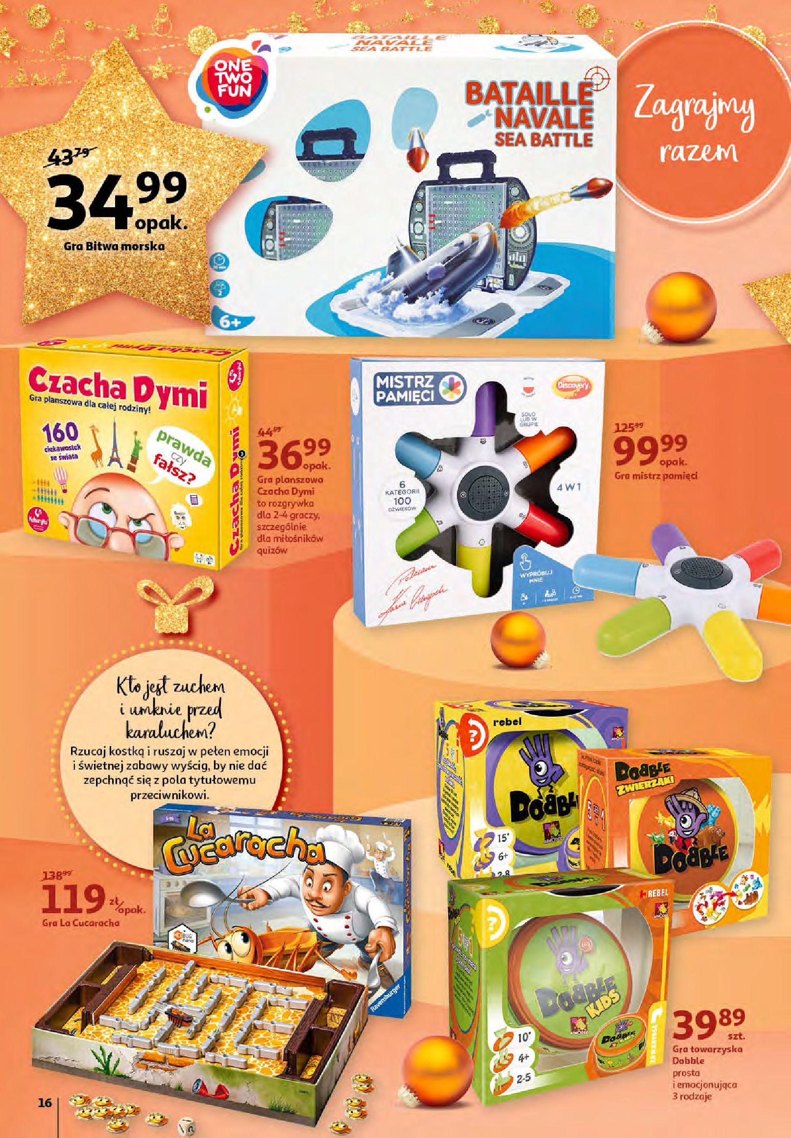 Gazetka Auchan - Magia zabawek i świątecznych ozdób-11.11.2020-25.11.2020-page-16