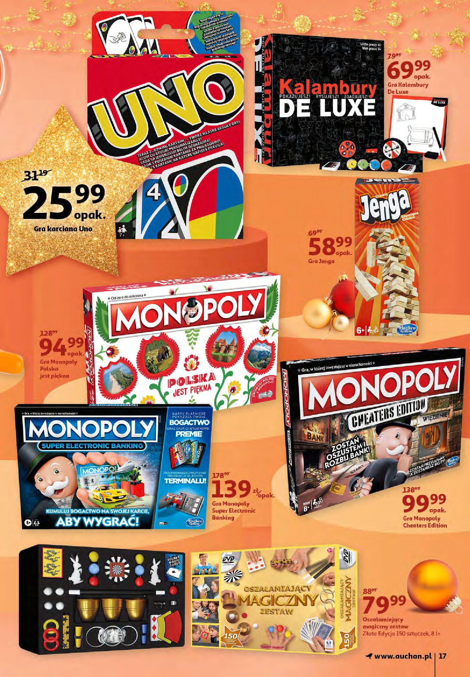 Gazetka Auchan - Magia zabawek i świątecznych ozdób-11.11.2020-25.11.2020-page-17