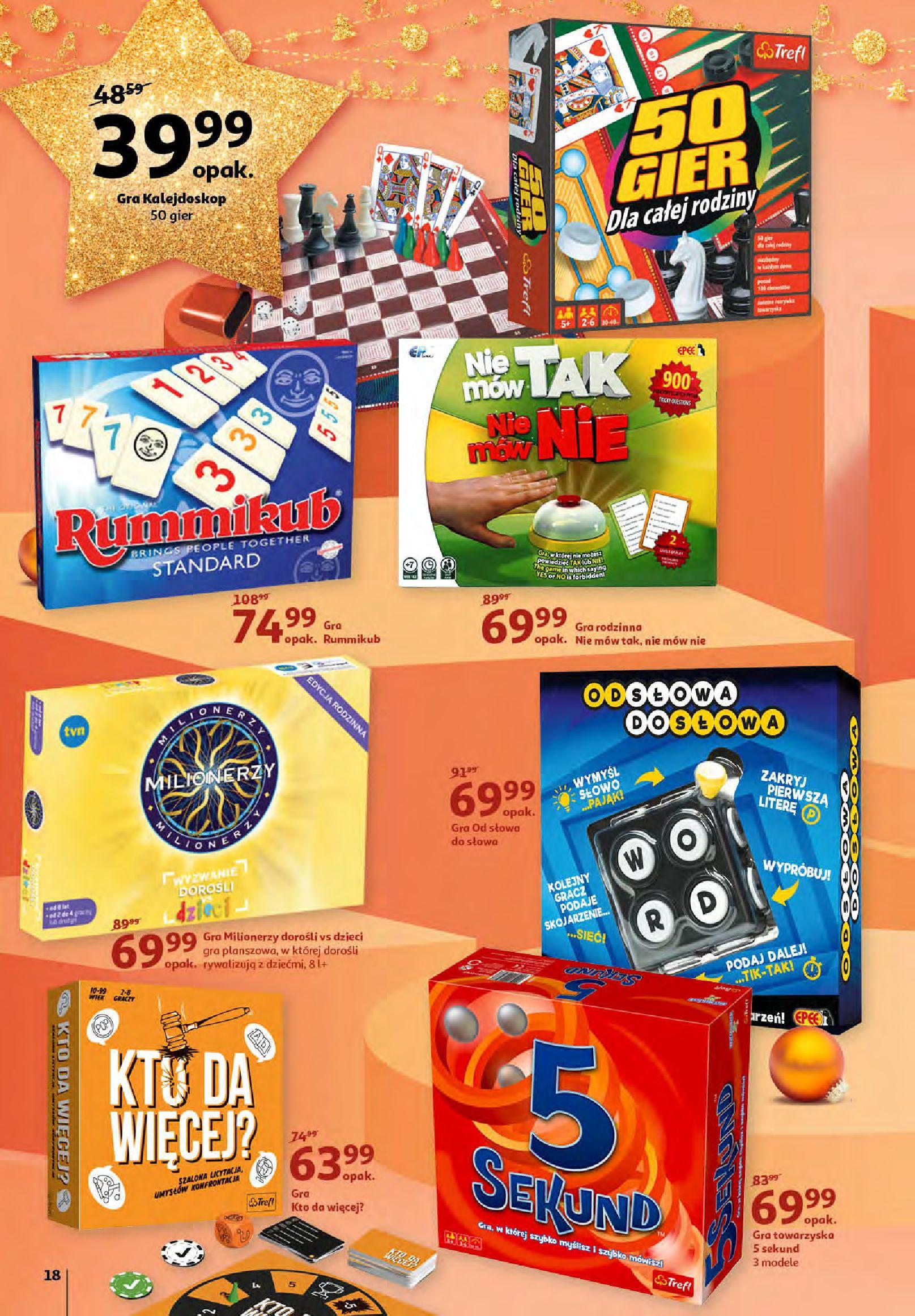 Gazetka Auchan - Magia zabawek i świątecznych ozdób-11.11.2020-25.11.2020-page-18
