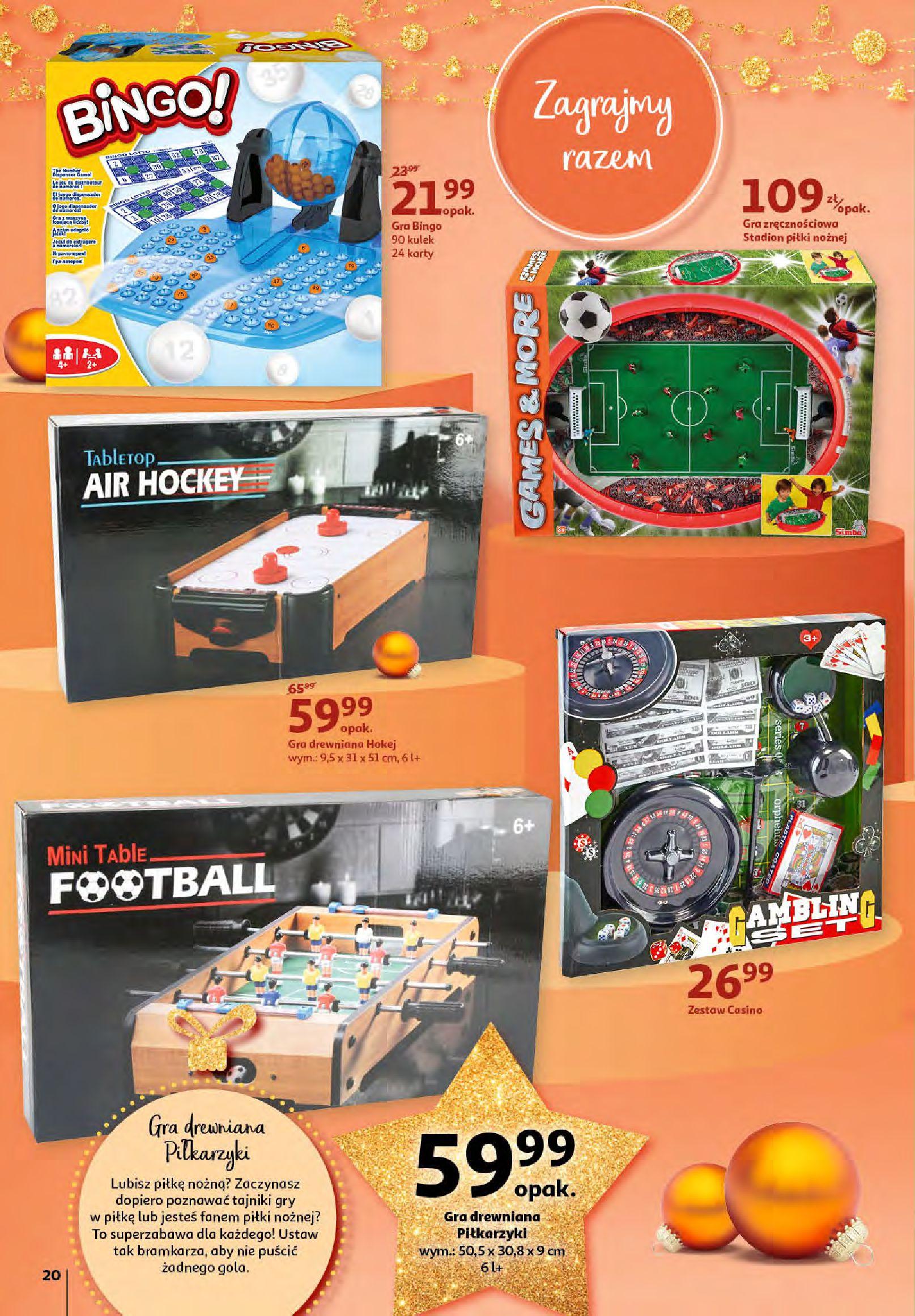 Gazetka Auchan - Magia zabawek i świątecznych ozdób-11.11.2020-25.11.2020-page-20