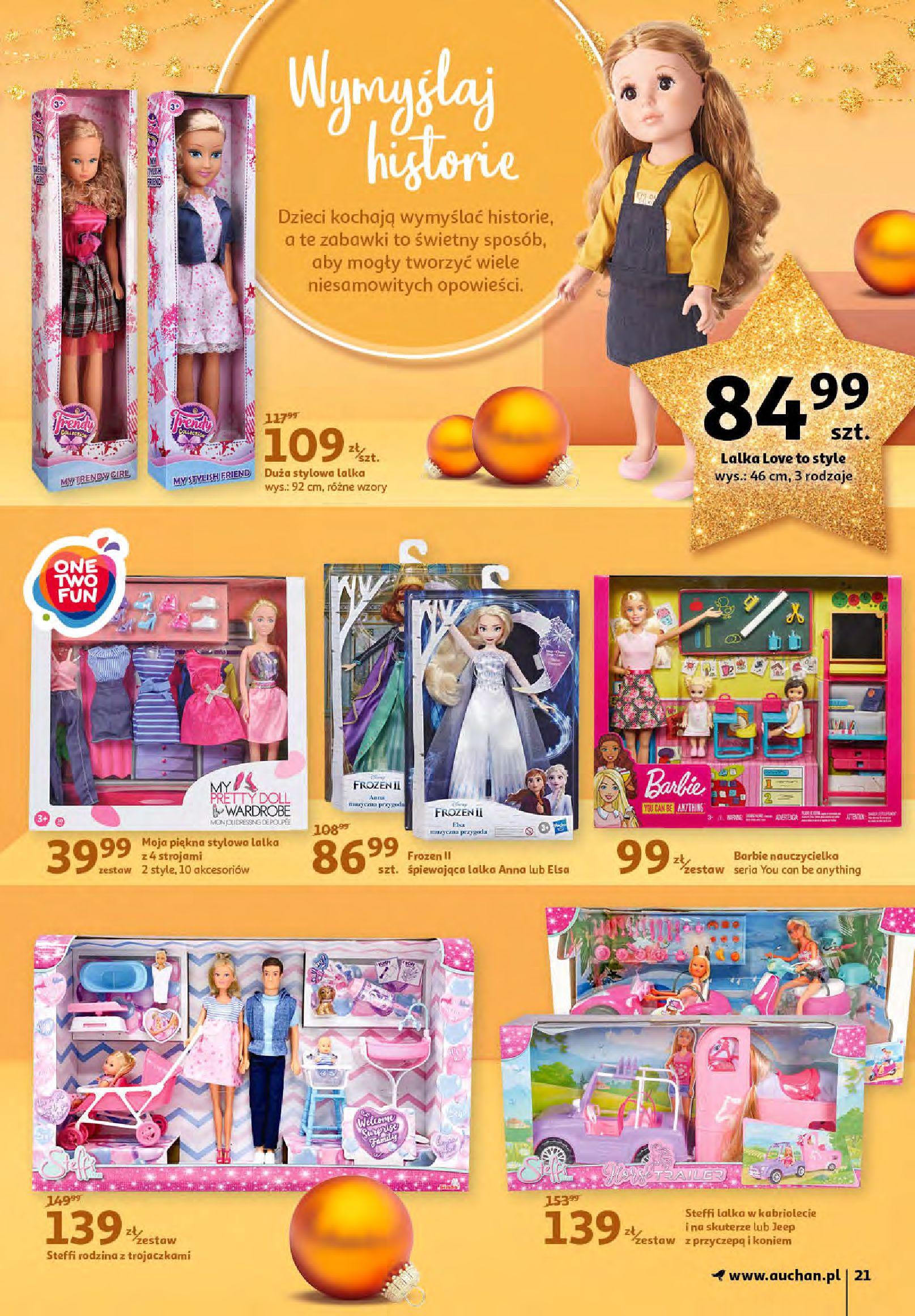 Gazetka Auchan - Magia zabawek i świątecznych ozdób-11.11.2020-25.11.2020-page-21