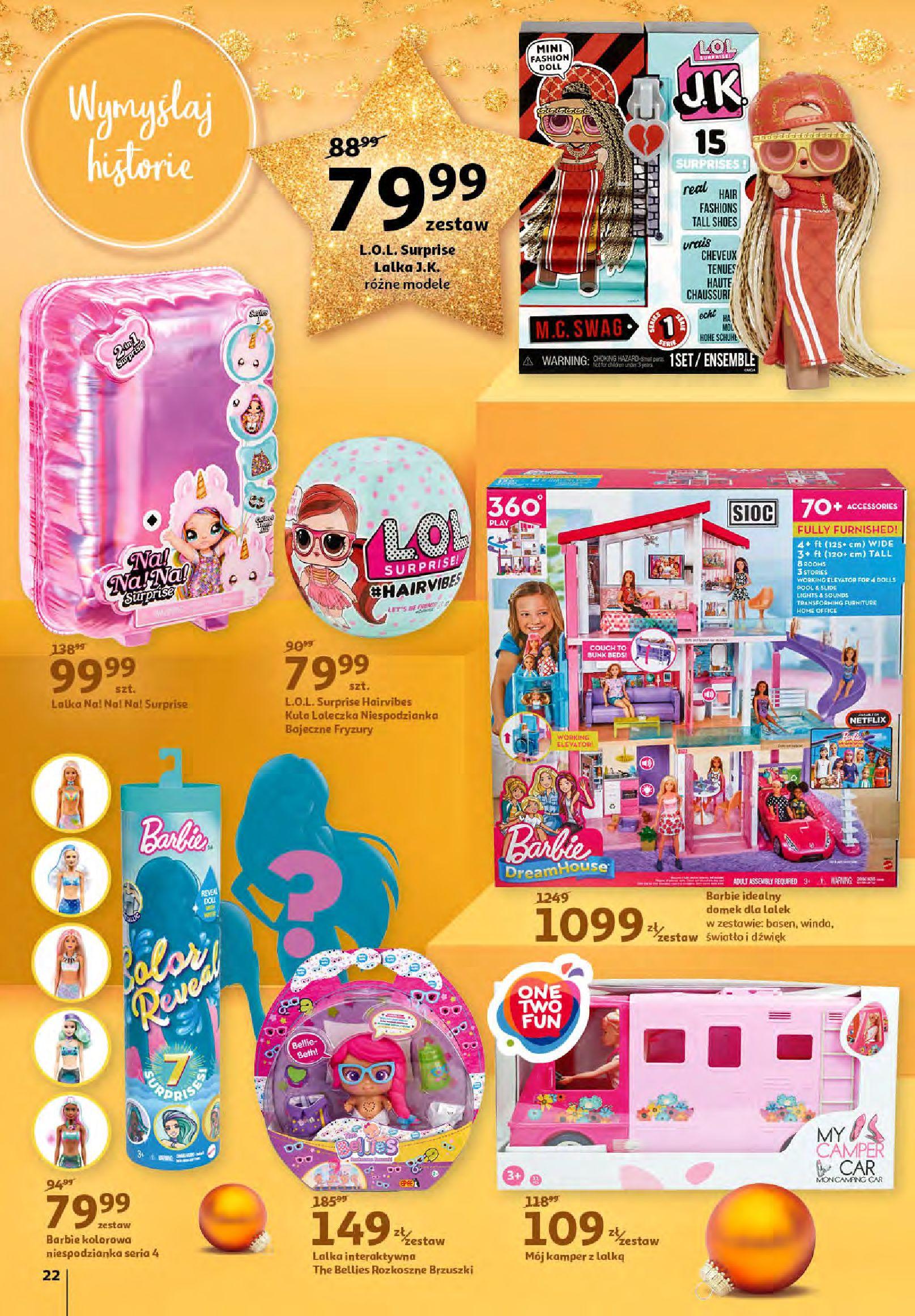 Gazetka Auchan - Magia zabawek i świątecznych ozdób-11.11.2020-25.11.2020-page-22