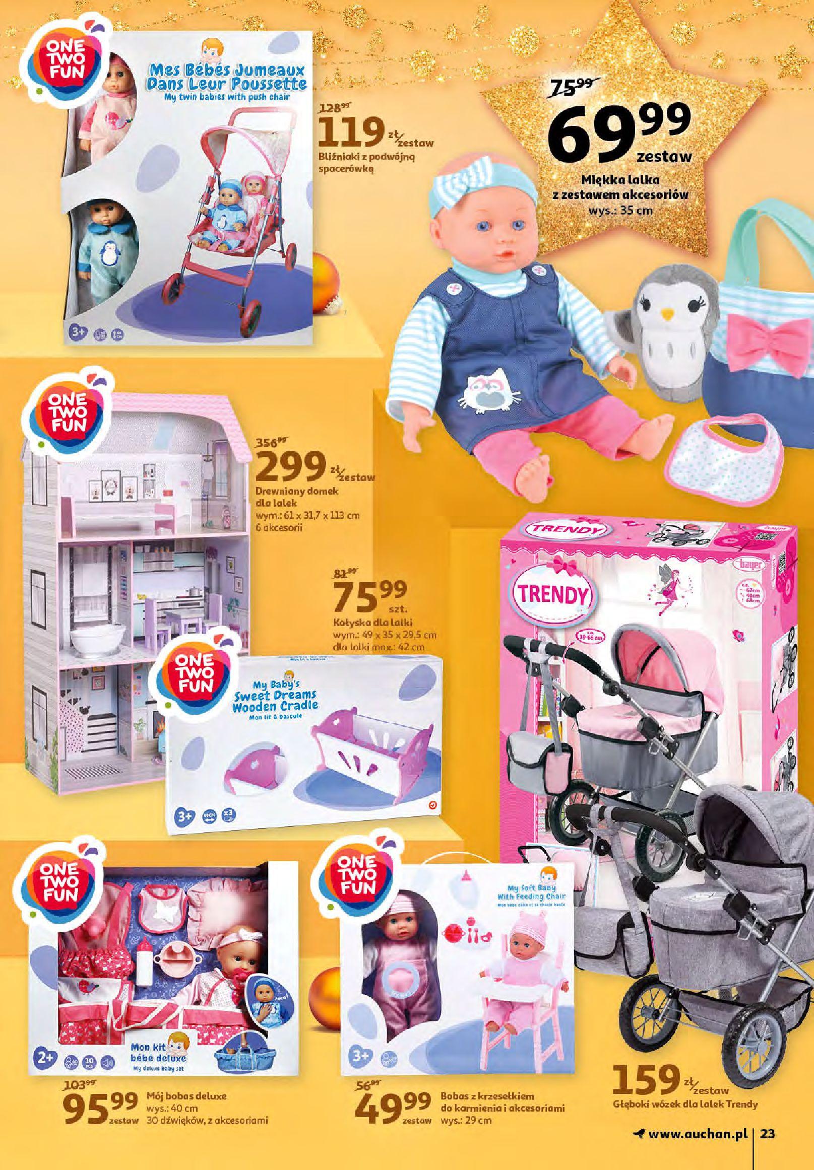 Gazetka Auchan - Magia zabawek i świątecznych ozdób-11.11.2020-25.11.2020-page-23