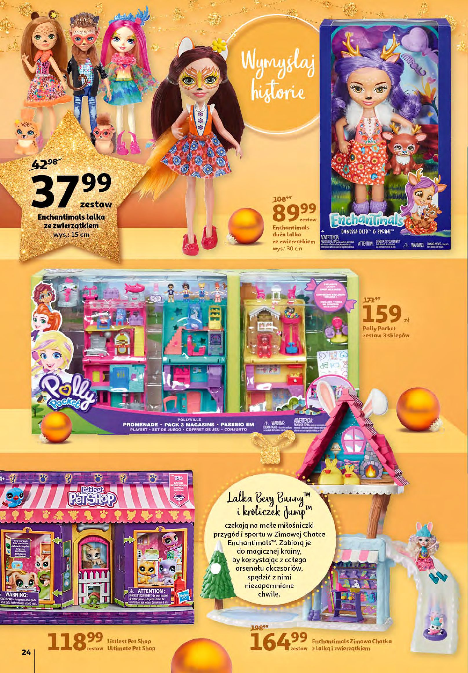 Gazetka Auchan - Magia zabawek i świątecznych ozdób-11.11.2020-25.11.2020-page-24
