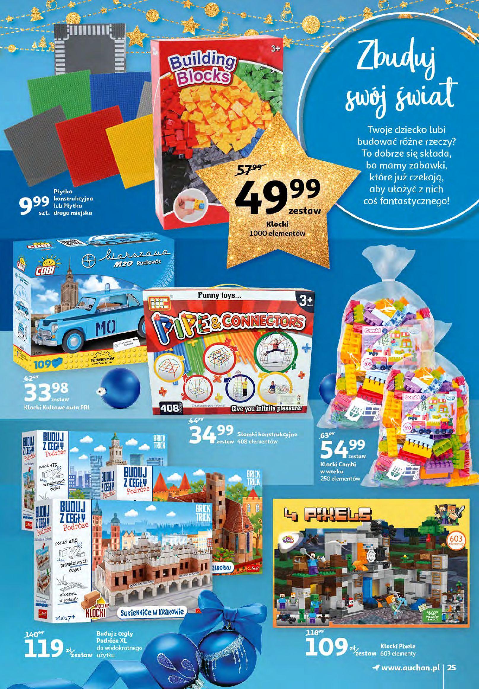 Gazetka Auchan - Magia zabawek i świątecznych ozdób-11.11.2020-25.11.2020-page-25