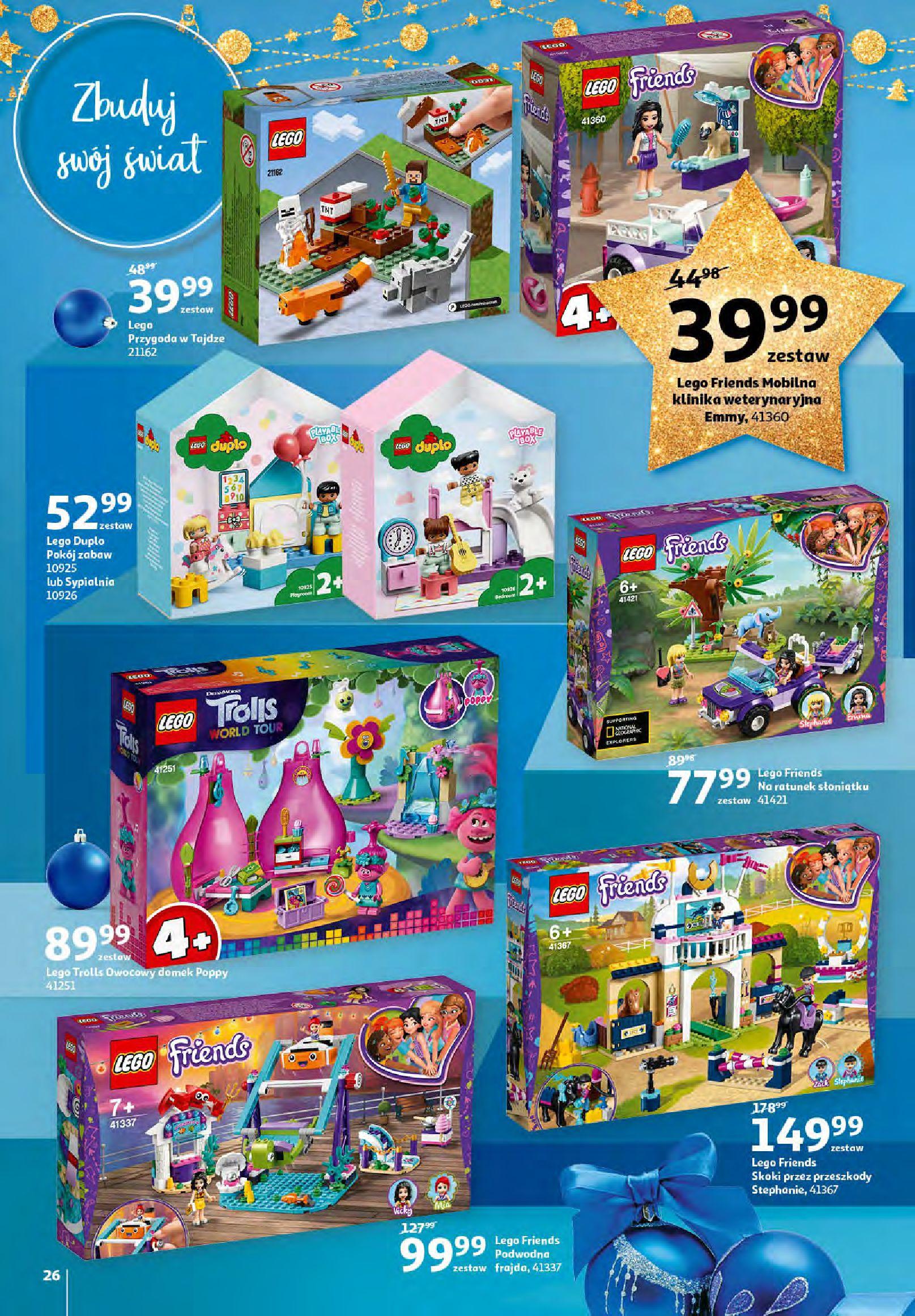 Gazetka Auchan - Magia zabawek i świątecznych ozdób-11.11.2020-25.11.2020-page-26
