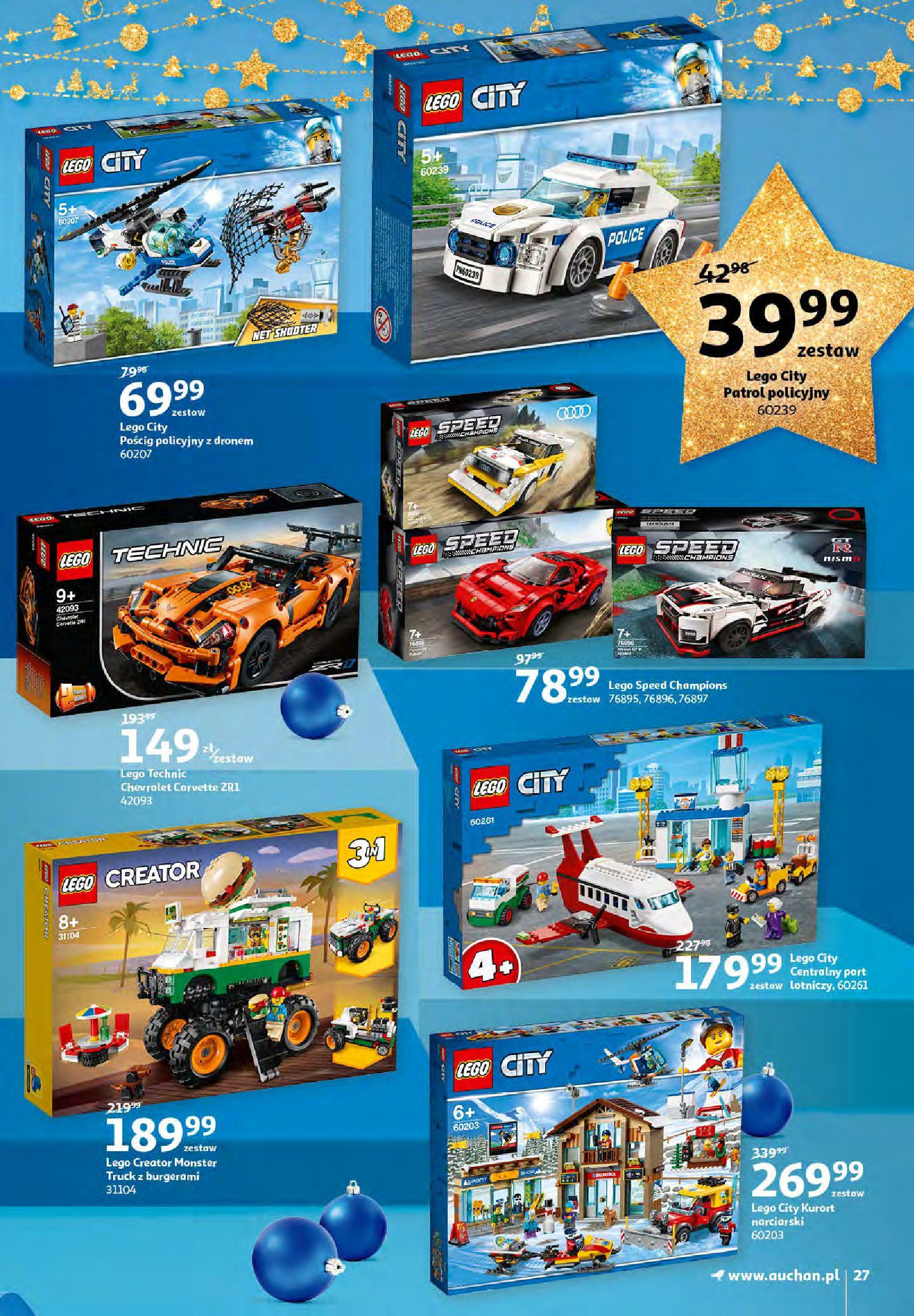 Gazetka Auchan - Magia zabawek i świątecznych ozdób-11.11.2020-25.11.2020-page-27