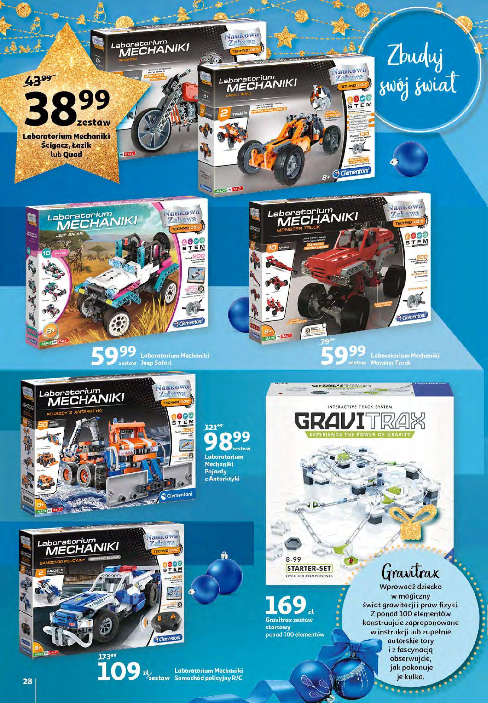 Gazetka Auchan - Magia zabawek i świątecznych ozdób-11.11.2020-25.11.2020-page-28