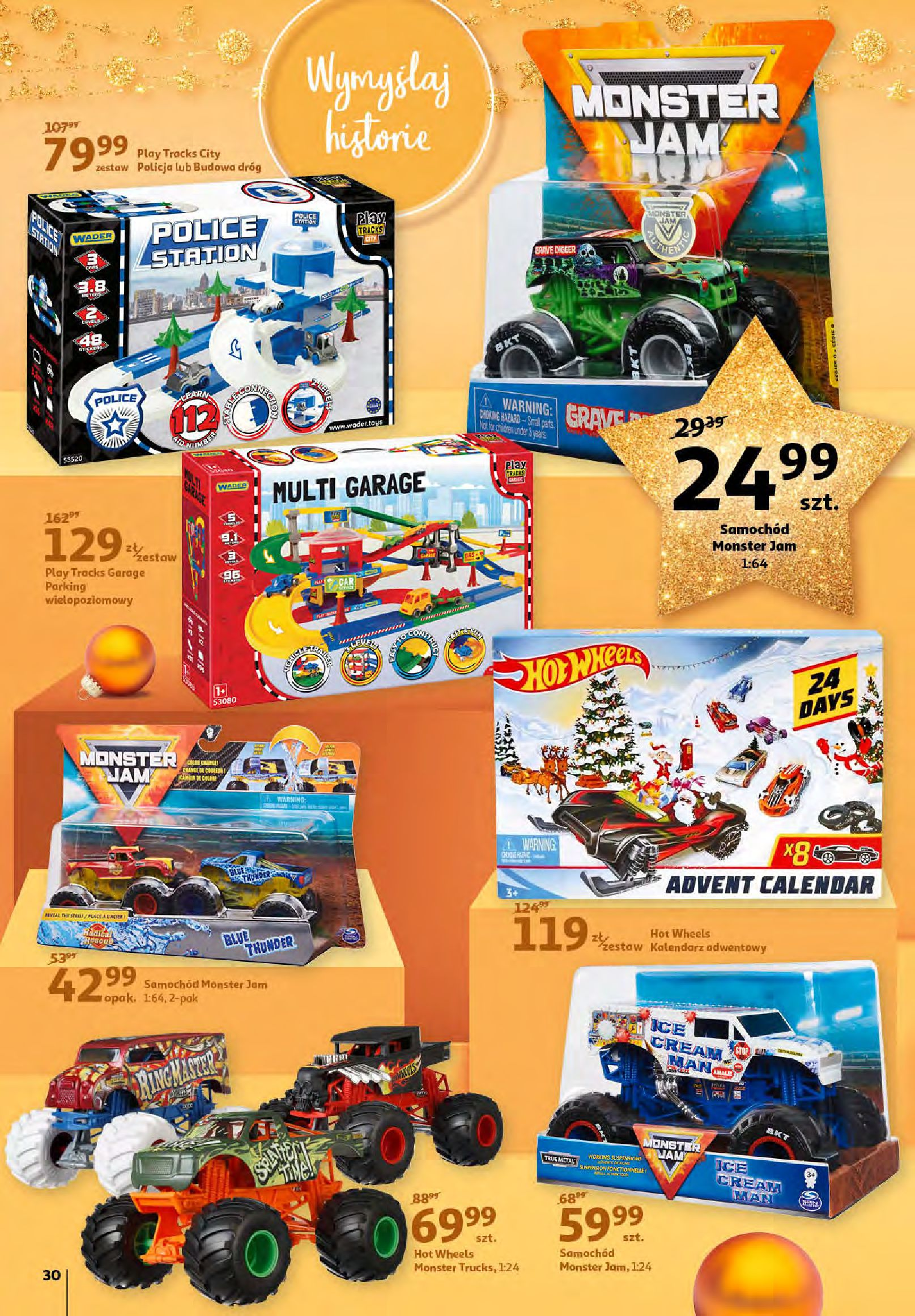 Gazetka Auchan - Magia zabawek i świątecznych ozdób-11.11.2020-25.11.2020-page-30
