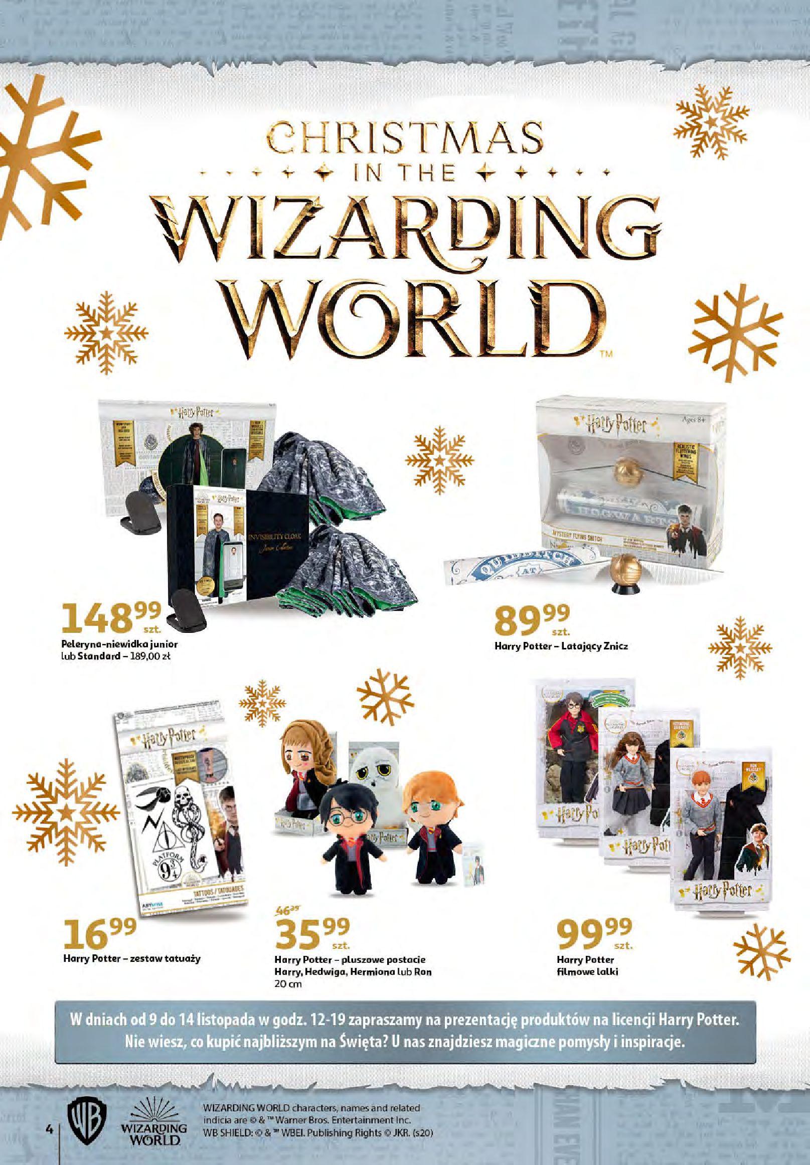 Gazetka Auchan - Magia zabawek i świątecznych ozdób-11.11.2020-25.11.2020-page-4