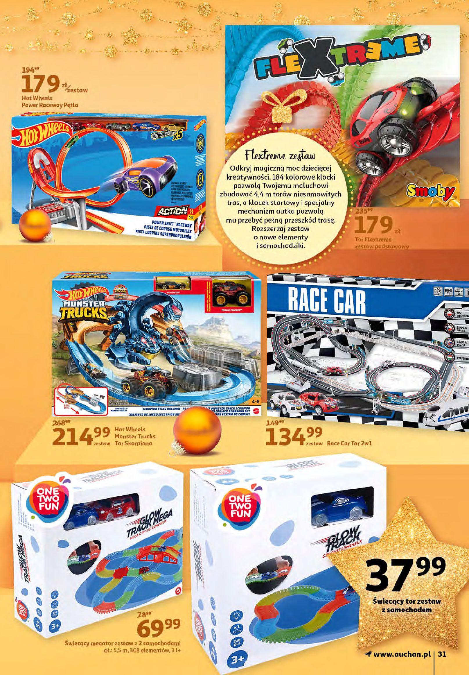 Gazetka Auchan - Magia zabawek i świątecznych ozdób-11.11.2020-25.11.2020-page-31