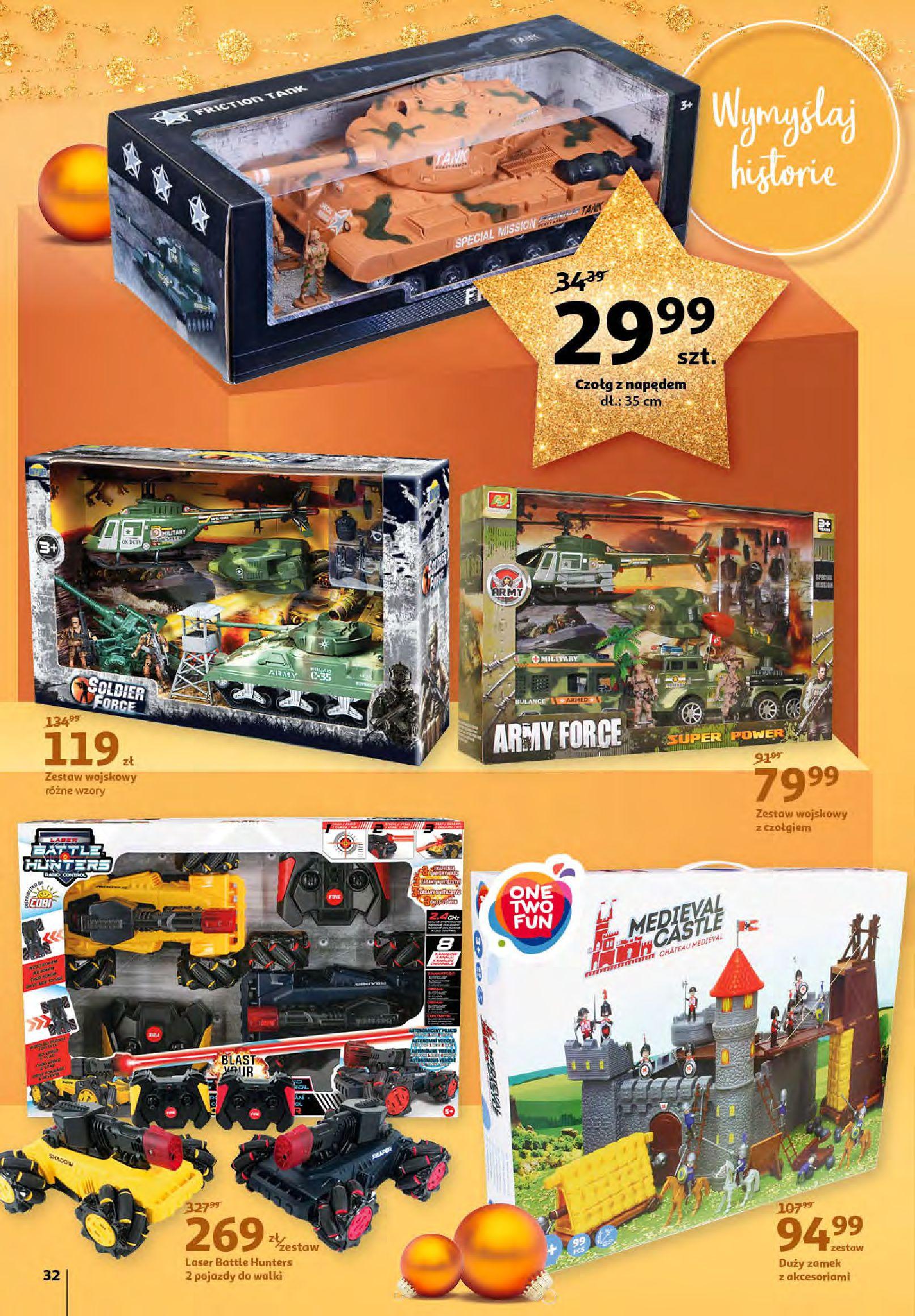 Gazetka Auchan - Magia zabawek i świątecznych ozdób-11.11.2020-25.11.2020-page-32