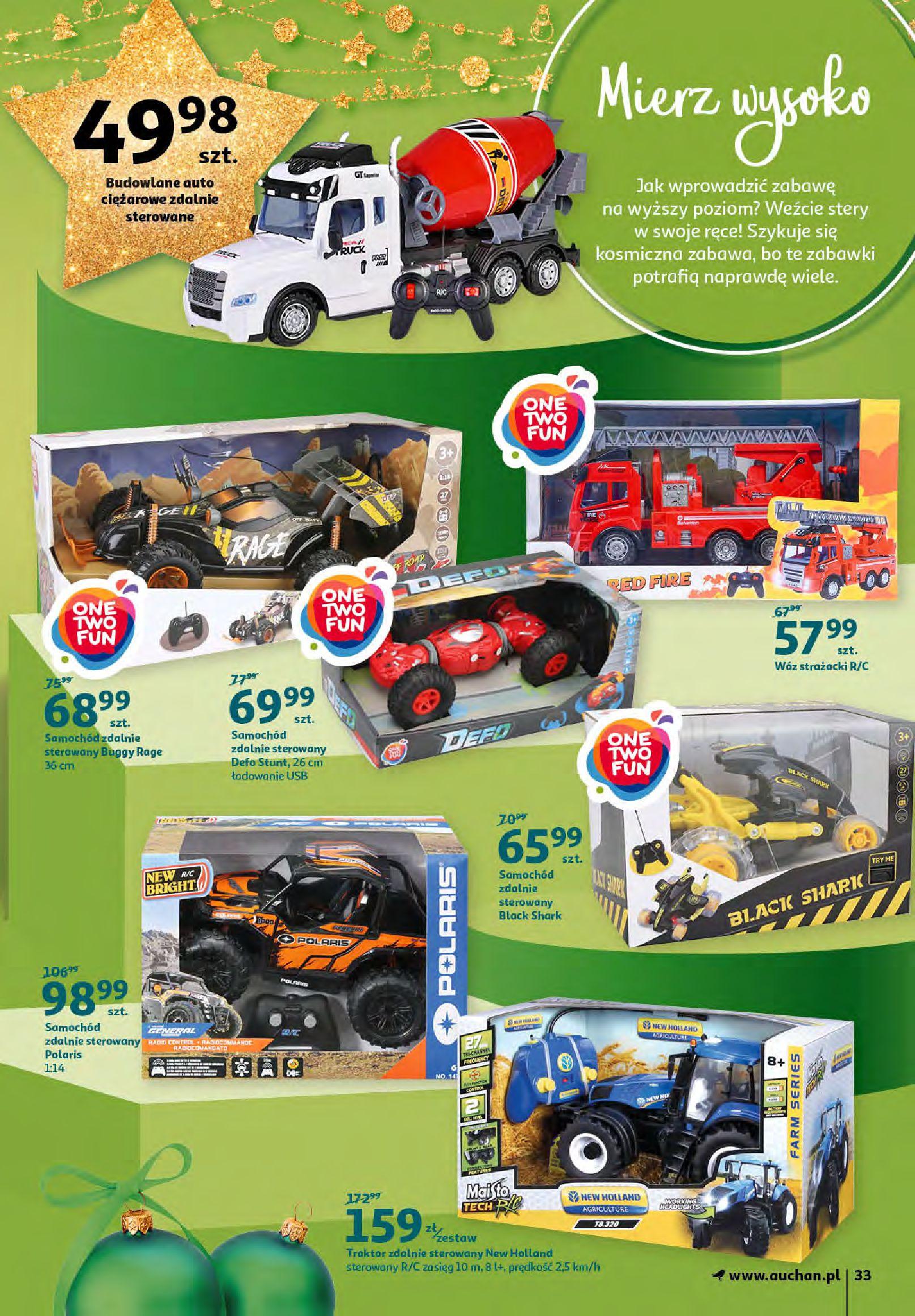 Gazetka Auchan - Magia zabawek i świątecznych ozdób-11.11.2020-25.11.2020-page-33