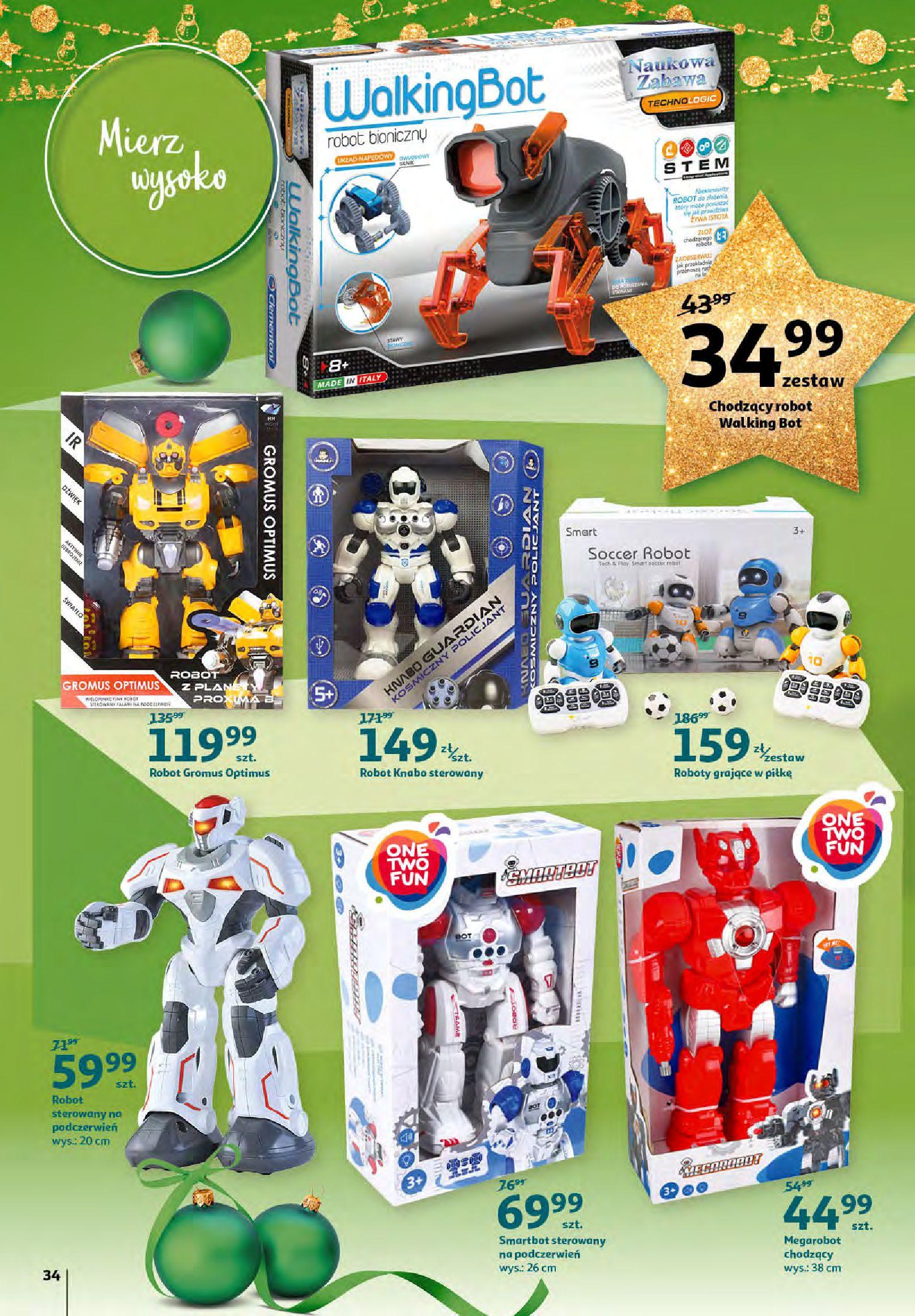 Gazetka Auchan - Magia zabawek i świątecznych ozdób-11.11.2020-25.11.2020-page-34
