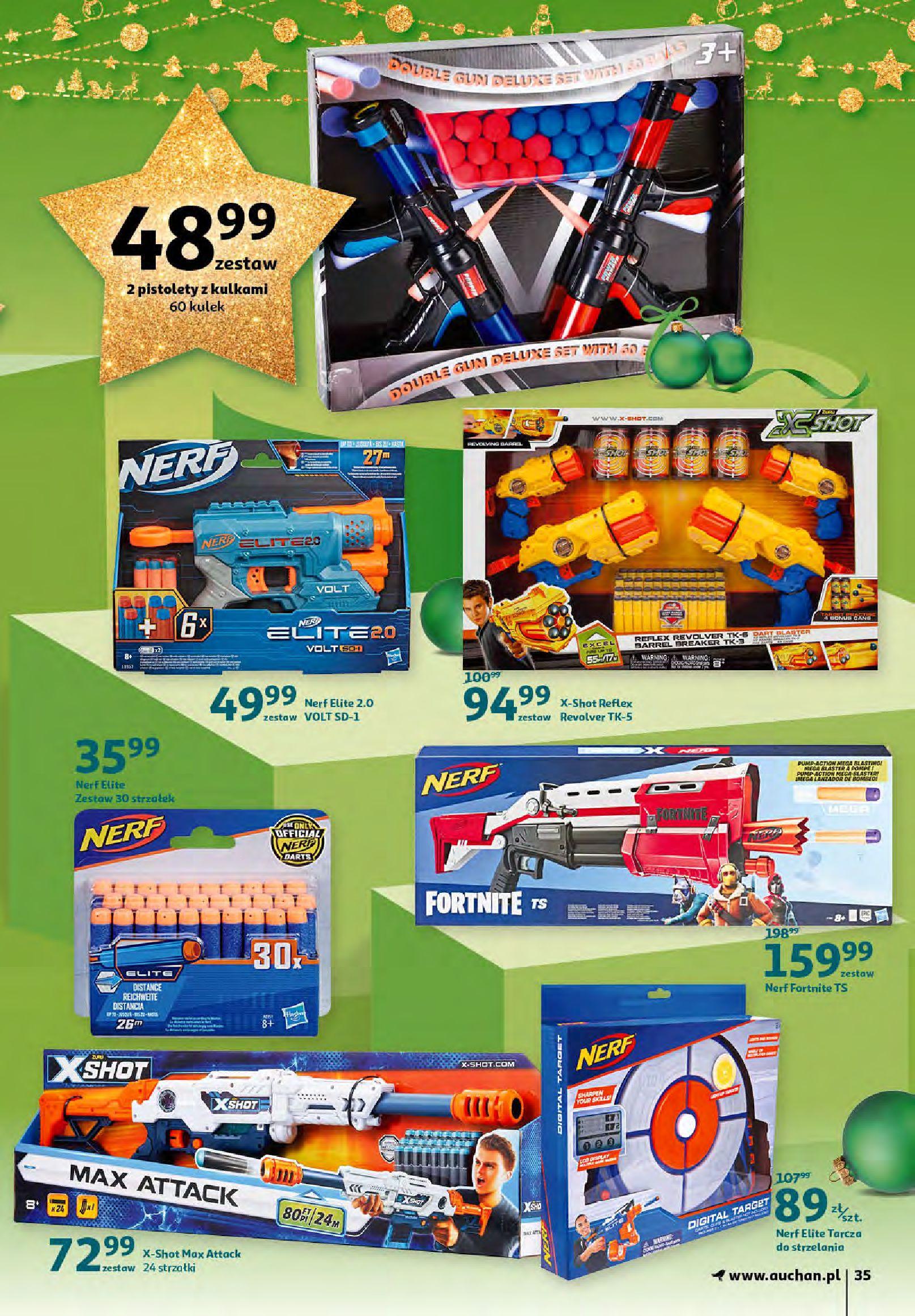 Gazetka Auchan - Magia zabawek i świątecznych ozdób-11.11.2020-25.11.2020-page-35