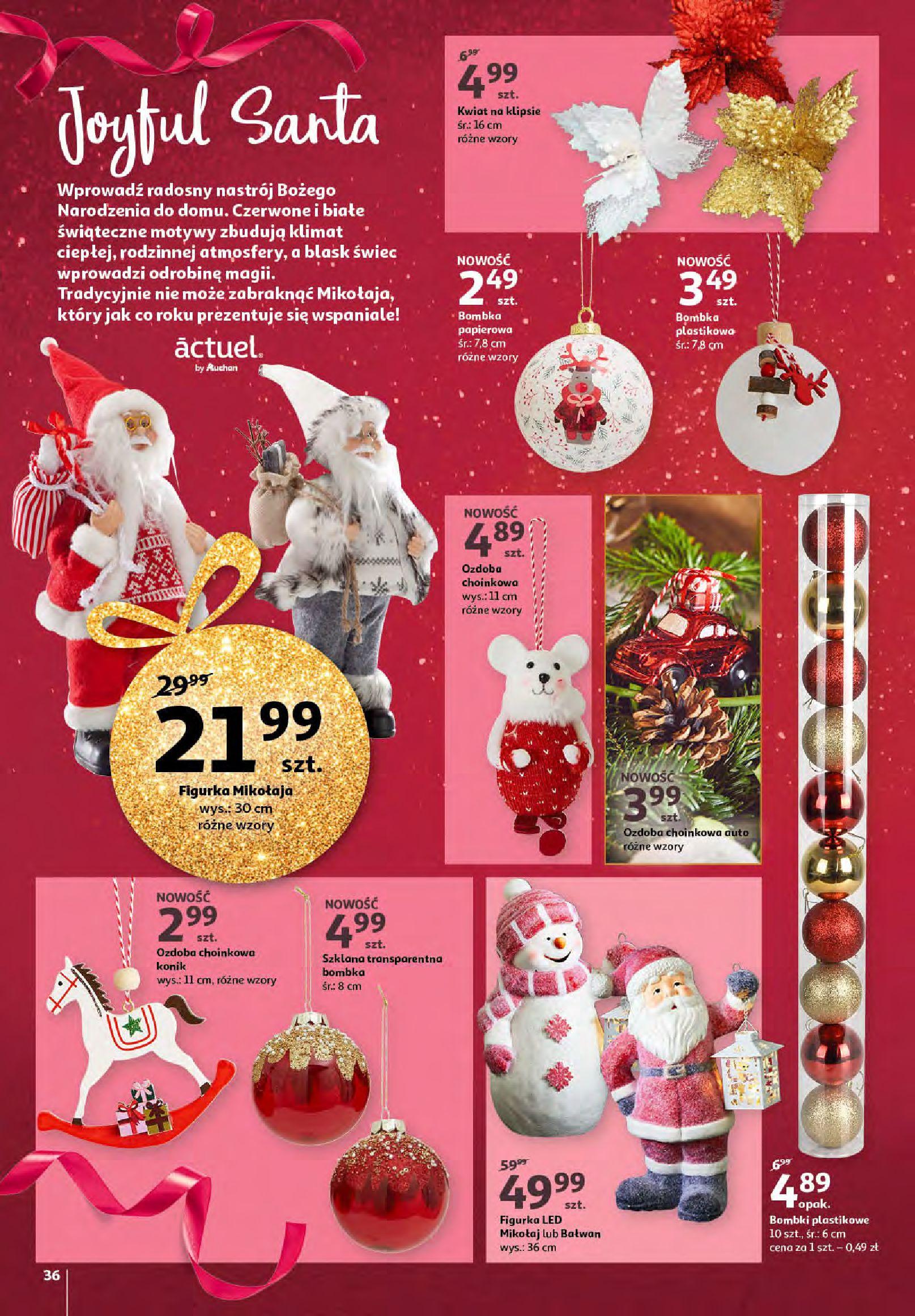 Gazetka Auchan - Magia zabawek i świątecznych ozdób-11.11.2020-25.11.2020-page-36