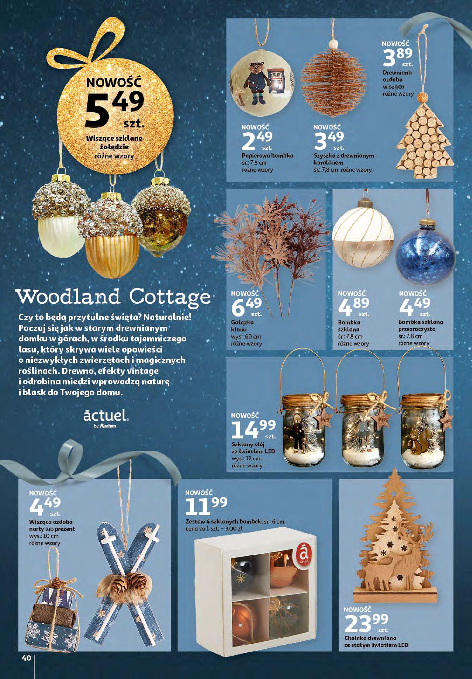 Gazetka Auchan - Magia zabawek i świątecznych ozdób-11.11.2020-25.11.2020-page-40