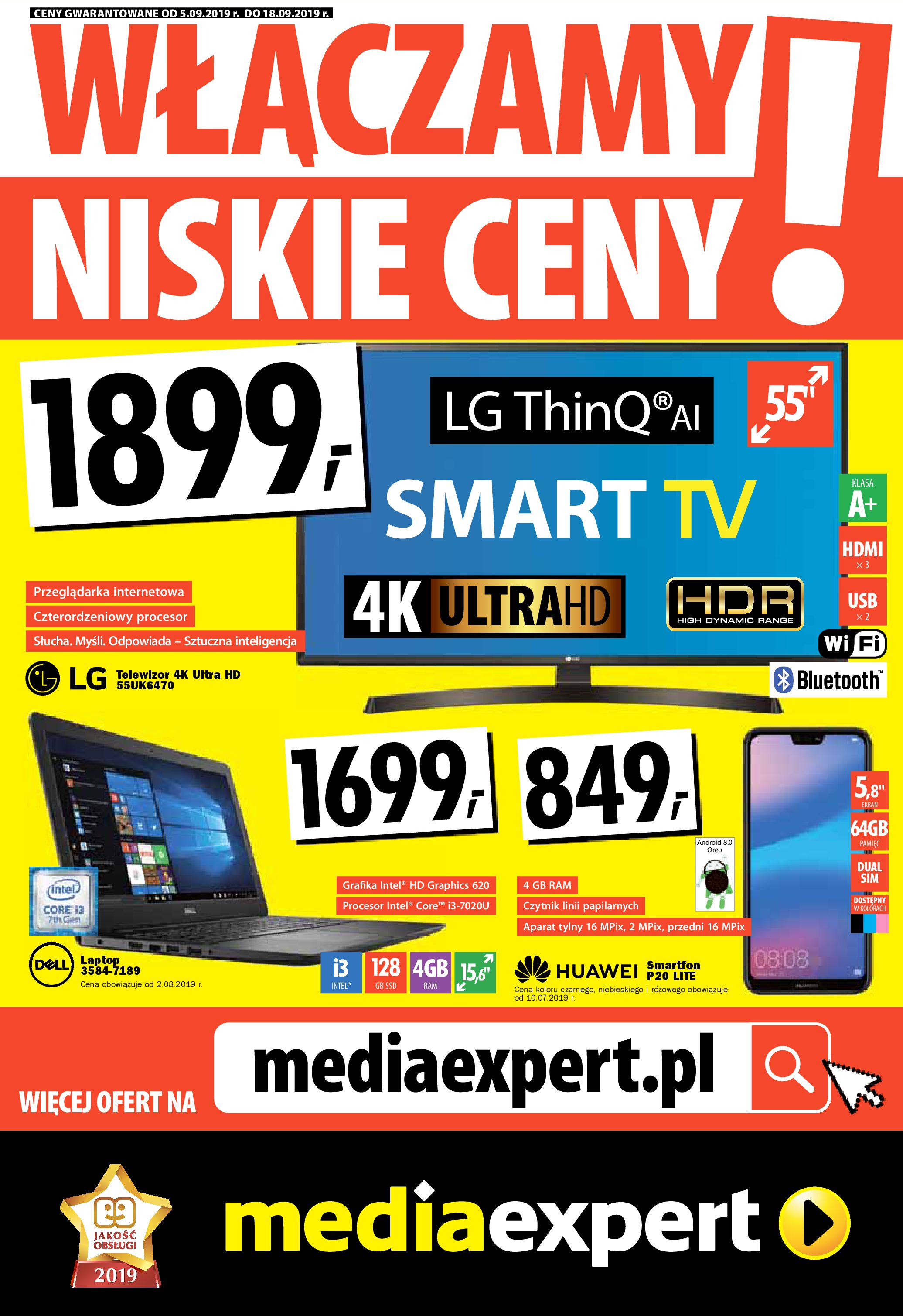Gazetka Media Expert - WŁĄCZAMY NISKIE CENY!-04.09.2019-18.09.2019-page-