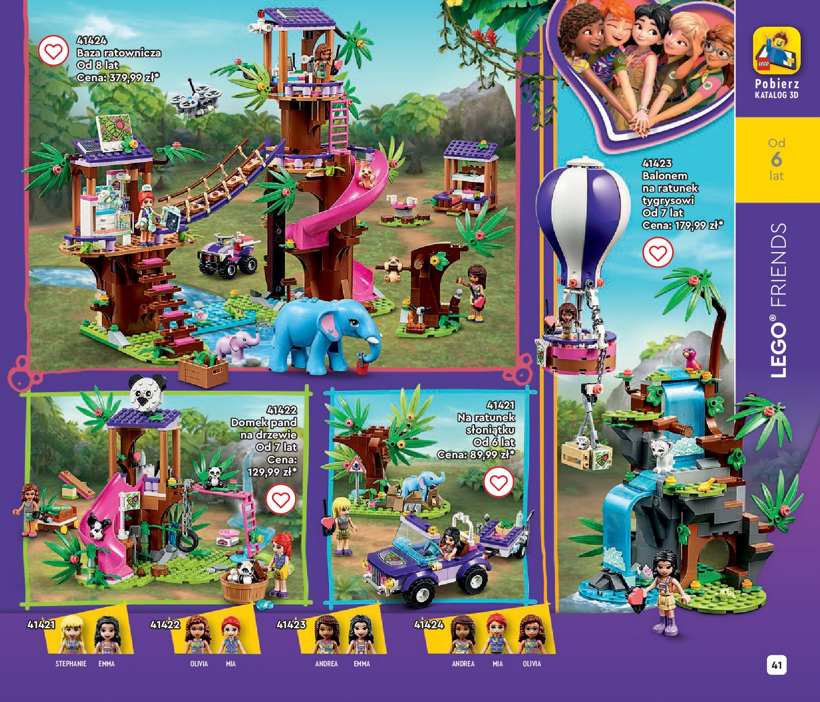 Gazetka LEGO: Gazetka LEGO - katalog 2021-06-30 page-41