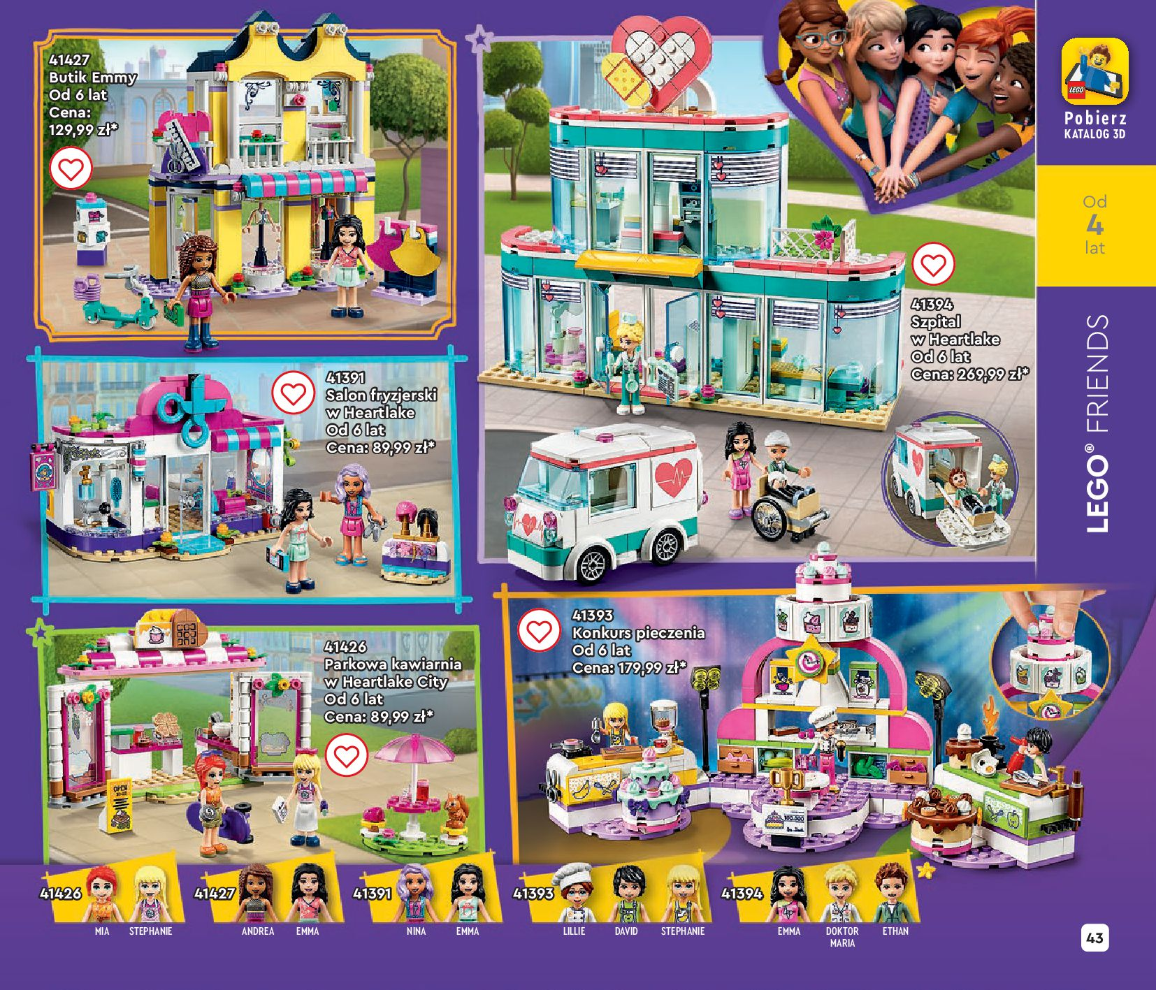 Gazetka LEGO: Gazetka LEGO - katalog 2021-06-30 page-43