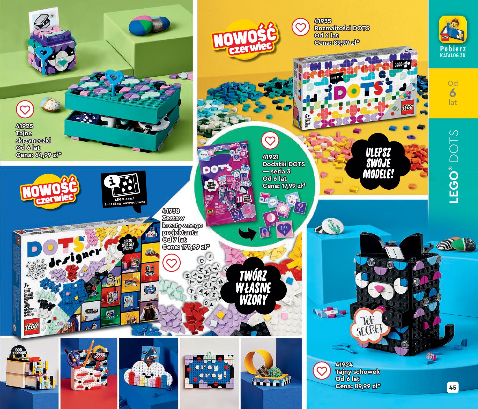 Gazetka LEGO: Gazetka LEGO - katalog 2021-06-30 page-45