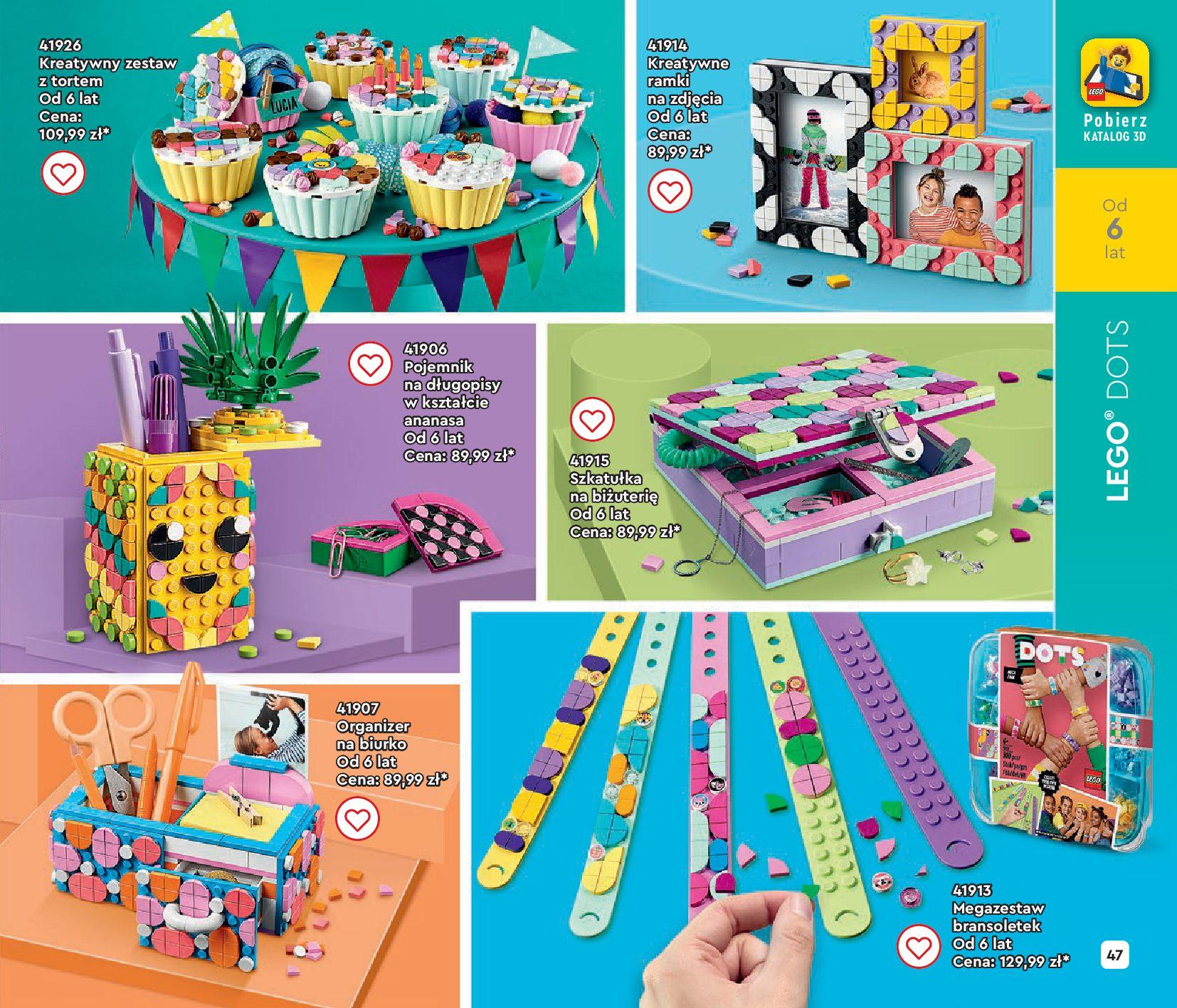 Gazetka LEGO: Gazetka LEGO - katalog 2021-06-30 page-47