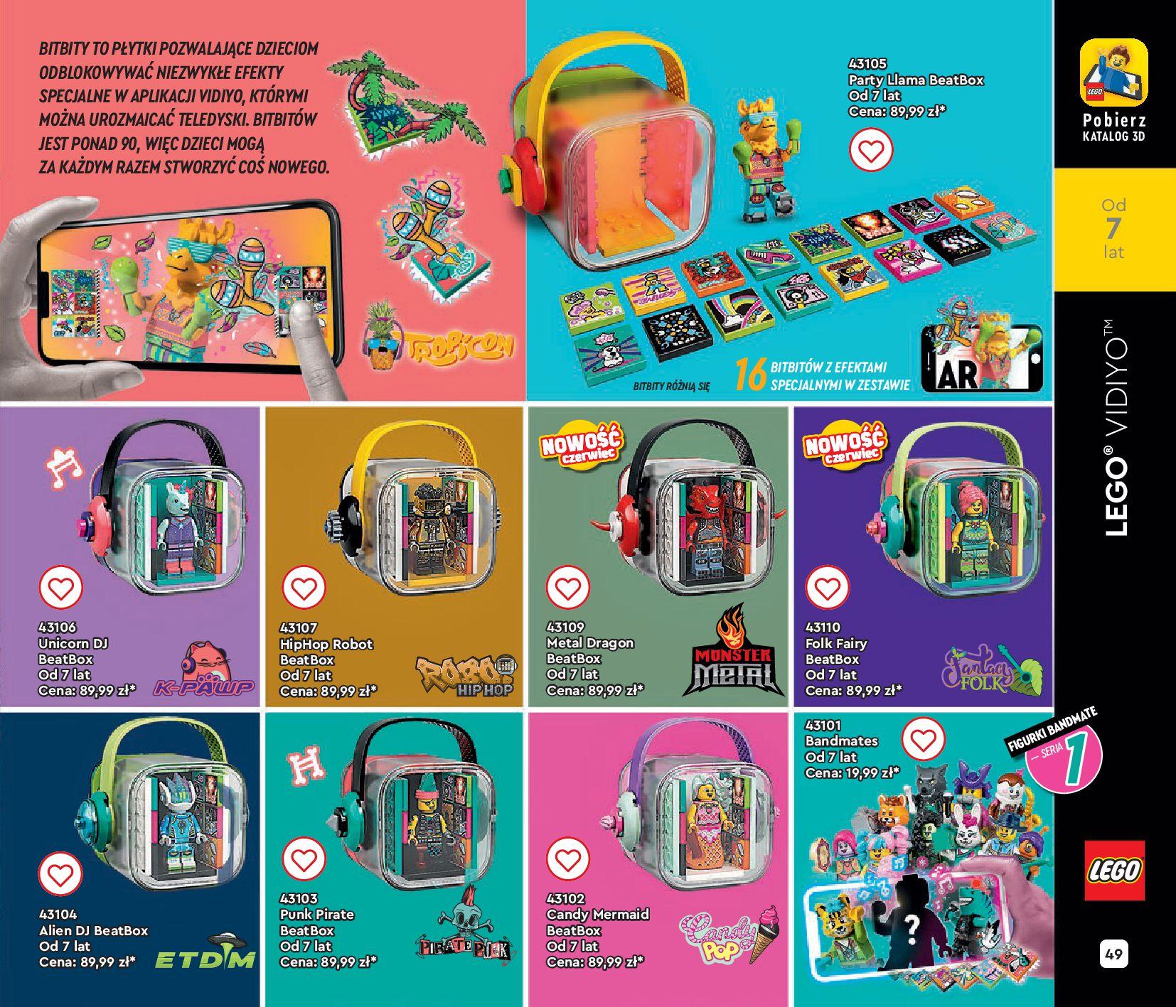 Gazetka LEGO: Gazetka LEGO - katalog 2021-06-30 page-49