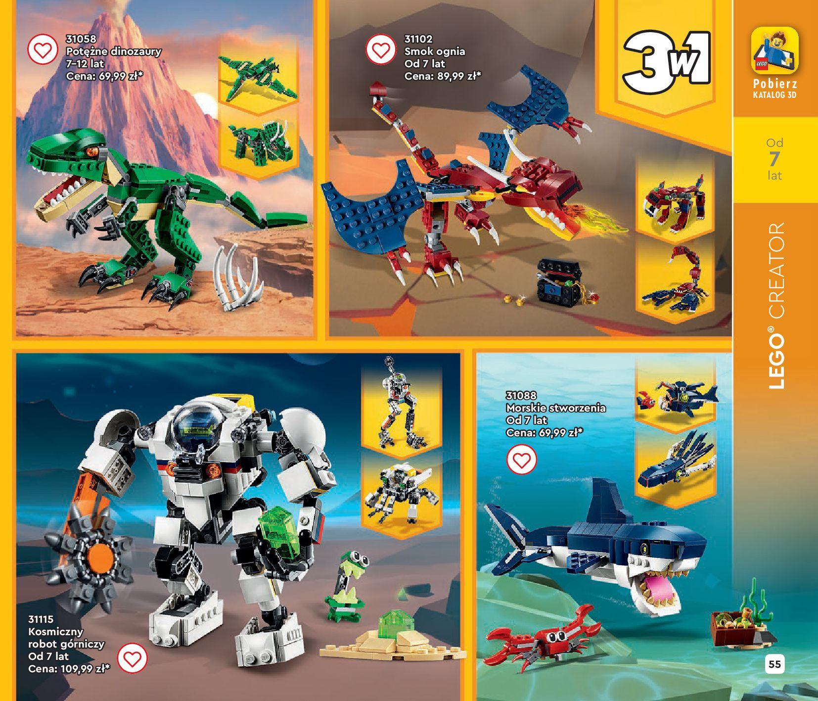 Gazetka LEGO: Gazetka LEGO - katalog 2021-06-30 page-55